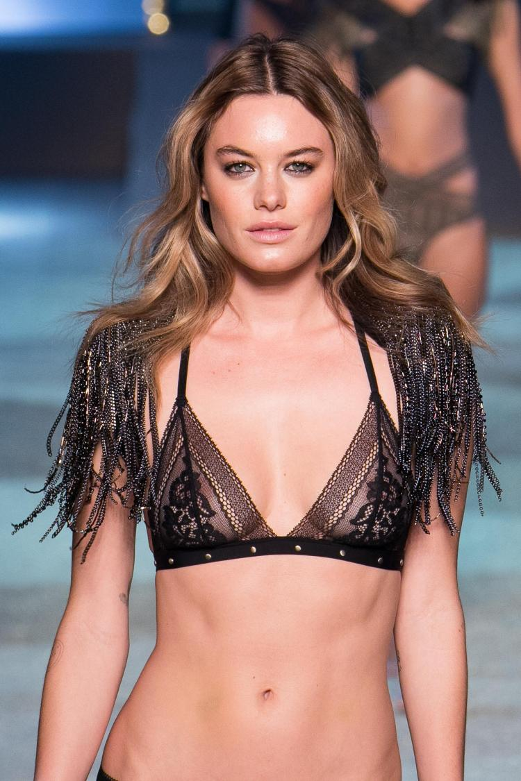 Camille has walked the runway for pants giant Victoria's Secret