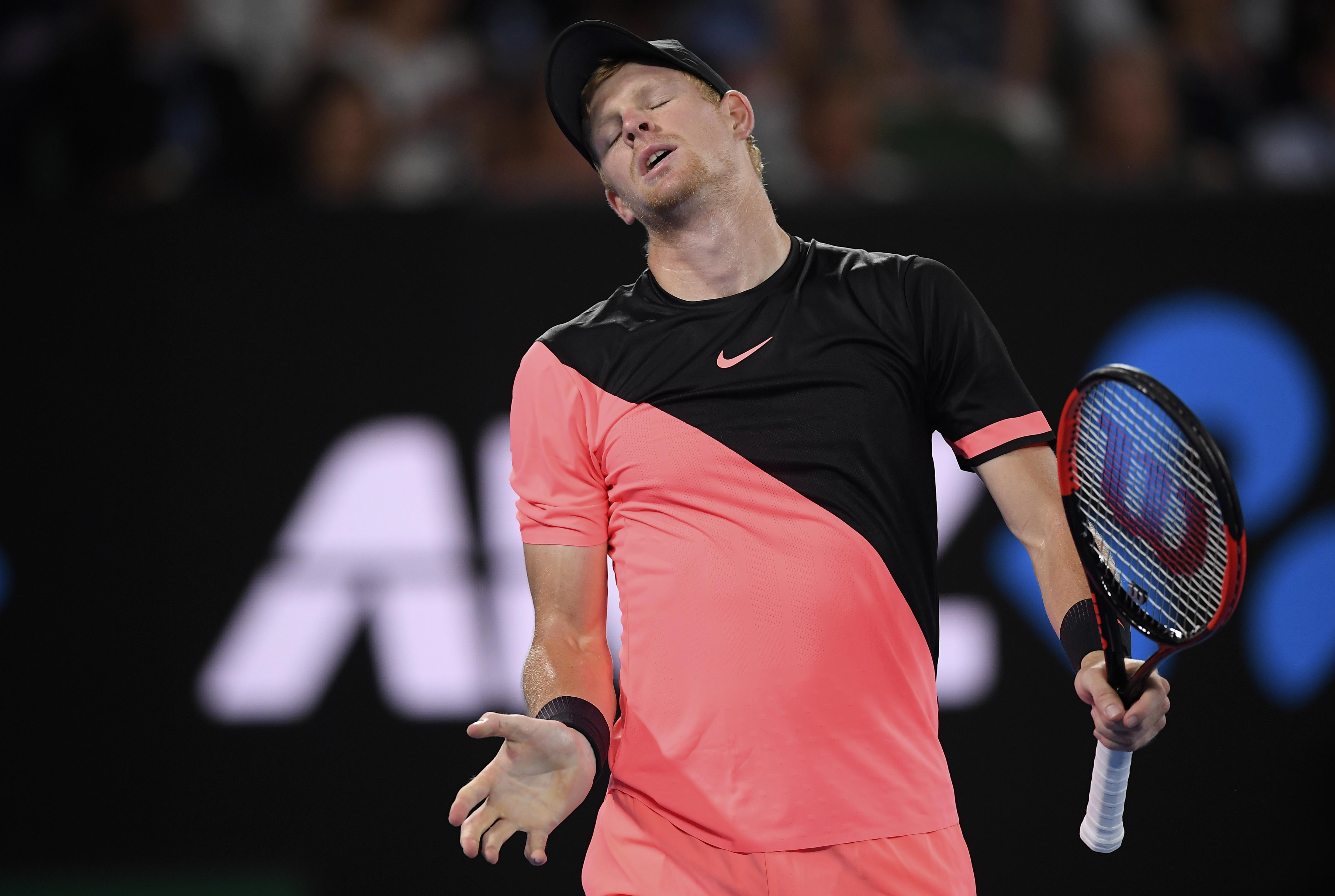 Edmund found Marin Cilic too hot to handle as he lost his Australian Open semi-final despite a battling display