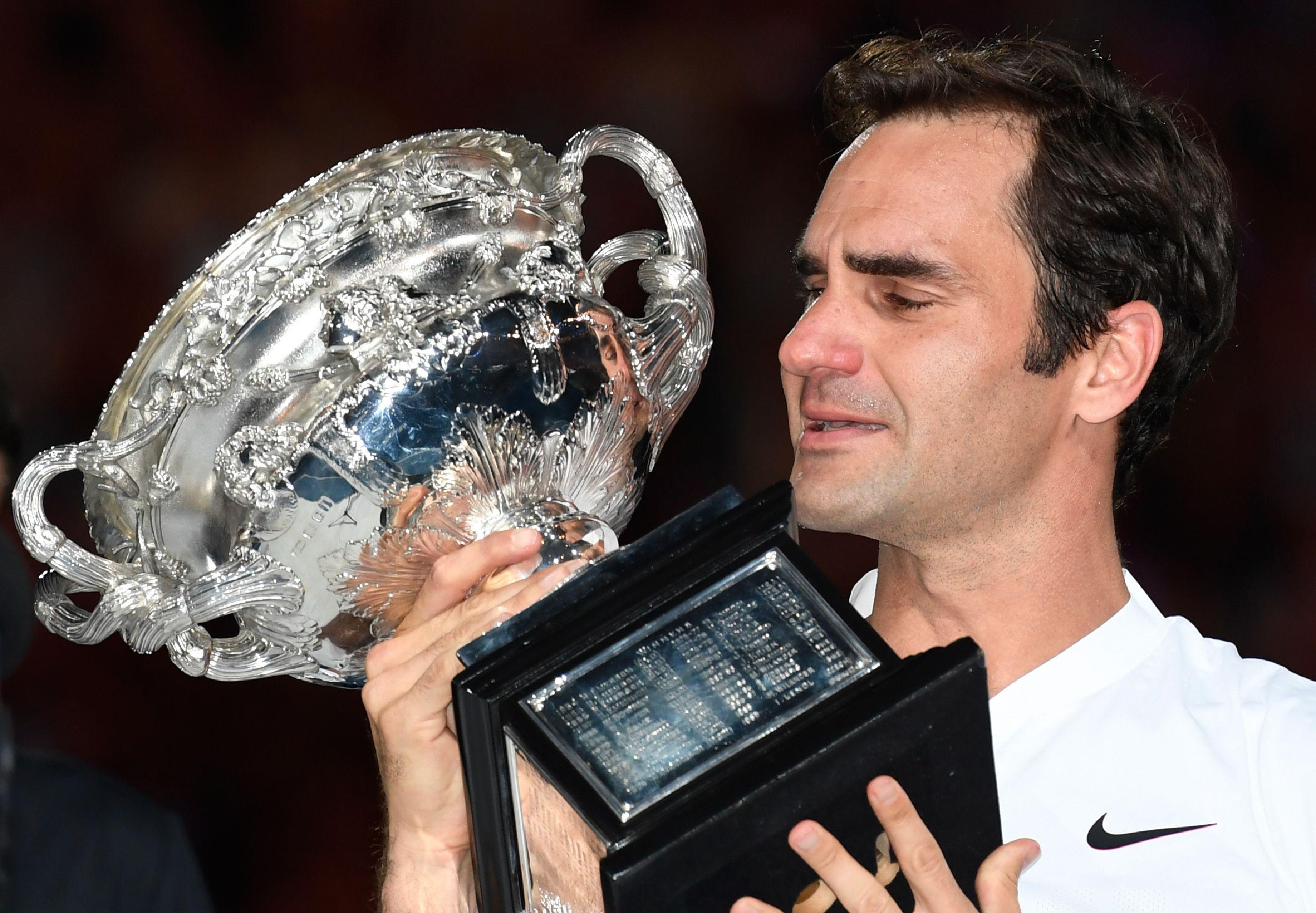Roger Federer claimed his 20th Grand Slam title after defeating Marin Cilic in Melbourne