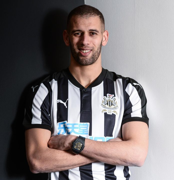 Image result for islam slimani newcastle