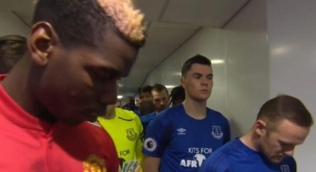 pogba rooney - Wayne Rooney ignored Paul Pogba in the tunnel before Manchester United's win at Everton