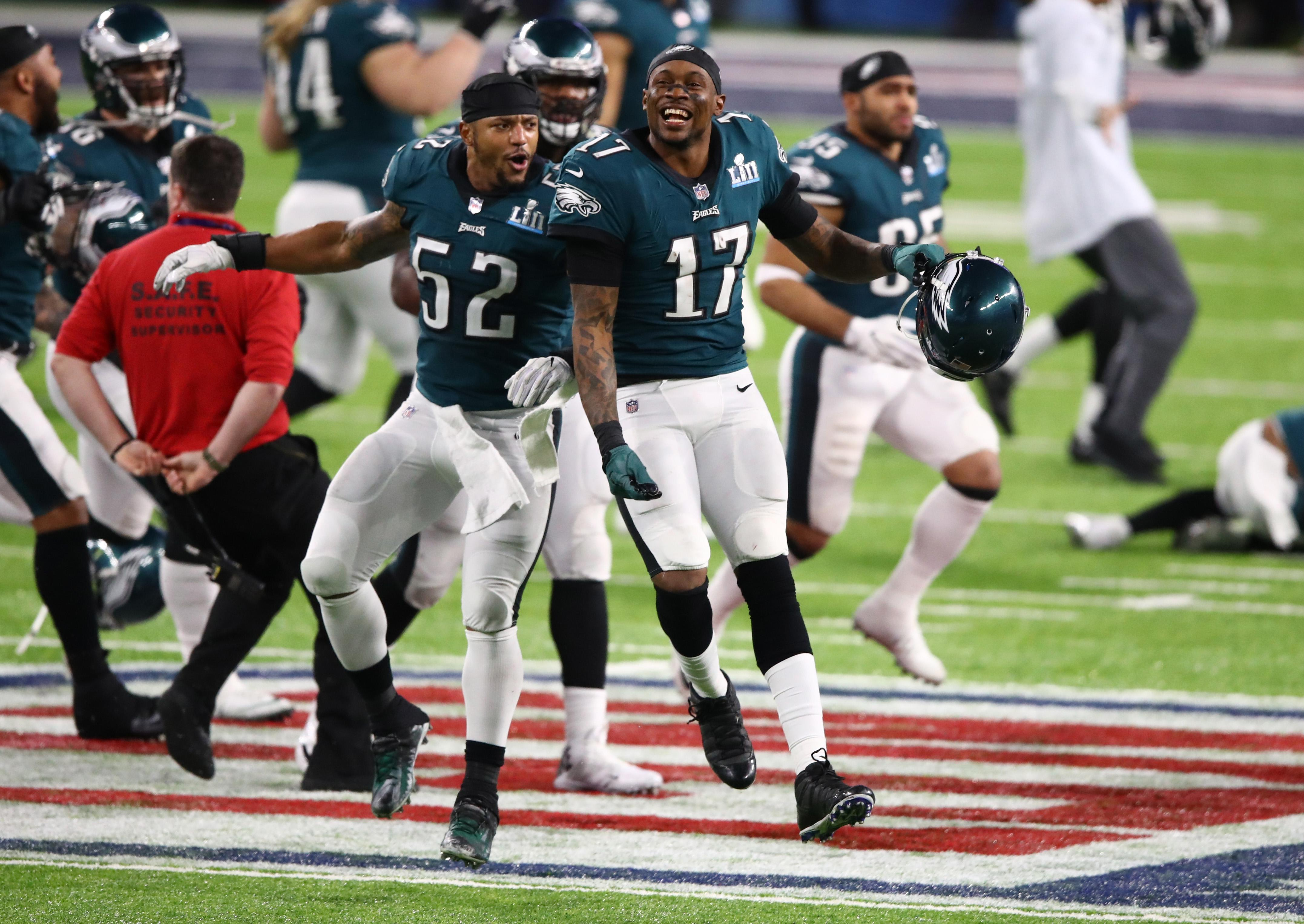 Philadelphia celebrated their first ever Super Bowl victory