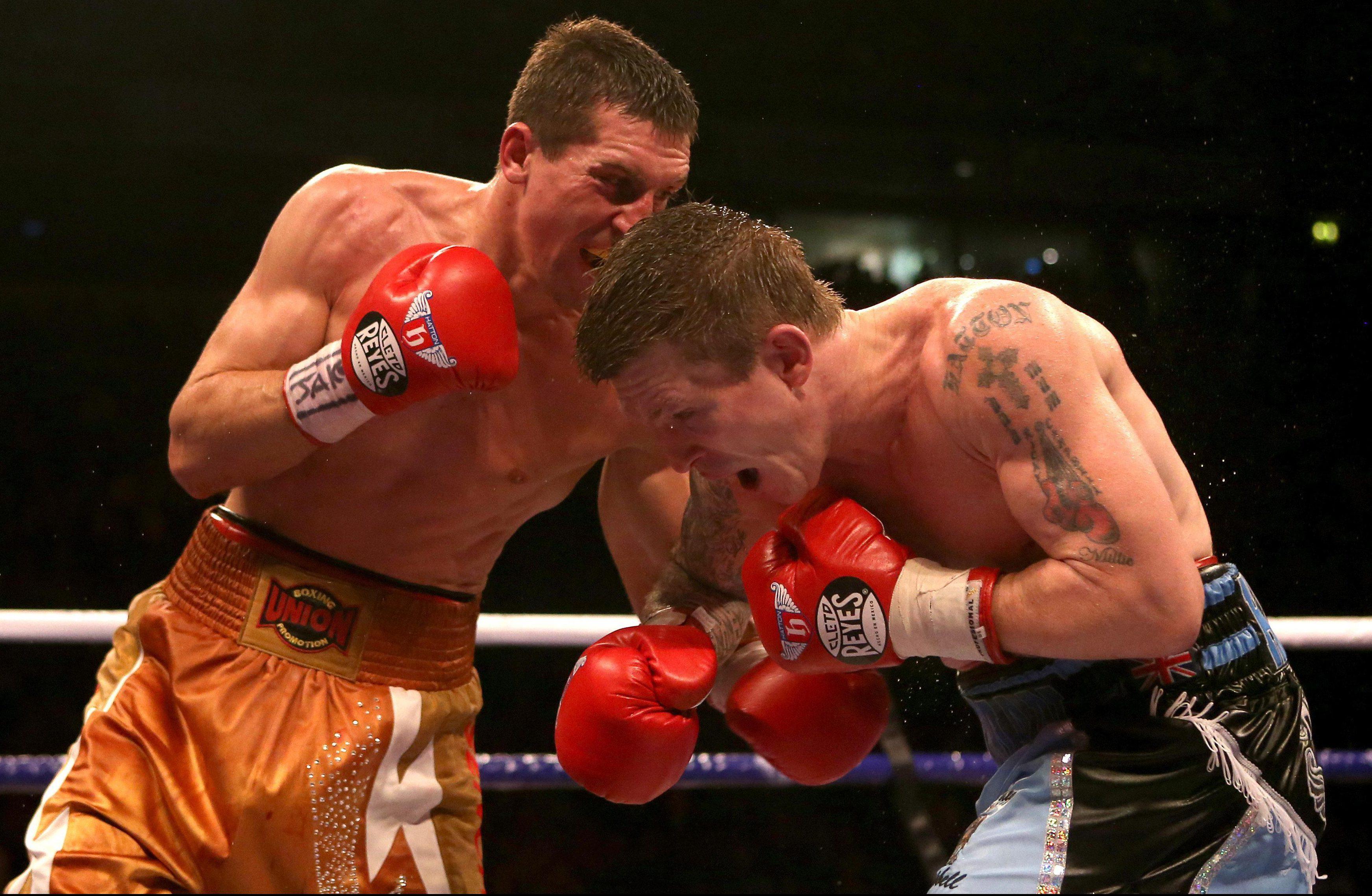 Ricky Hatton made a disastrous comeback against Vyacheslav Senchenko