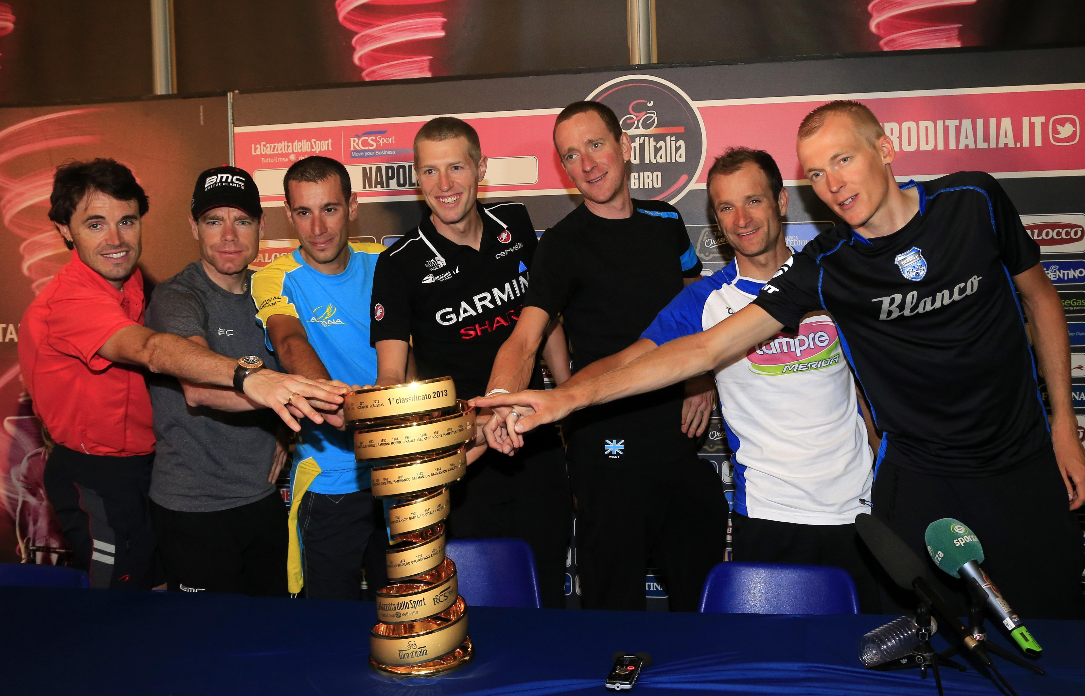 Bradley Wiggins made an unsuccessful bid for the Giro in 2013