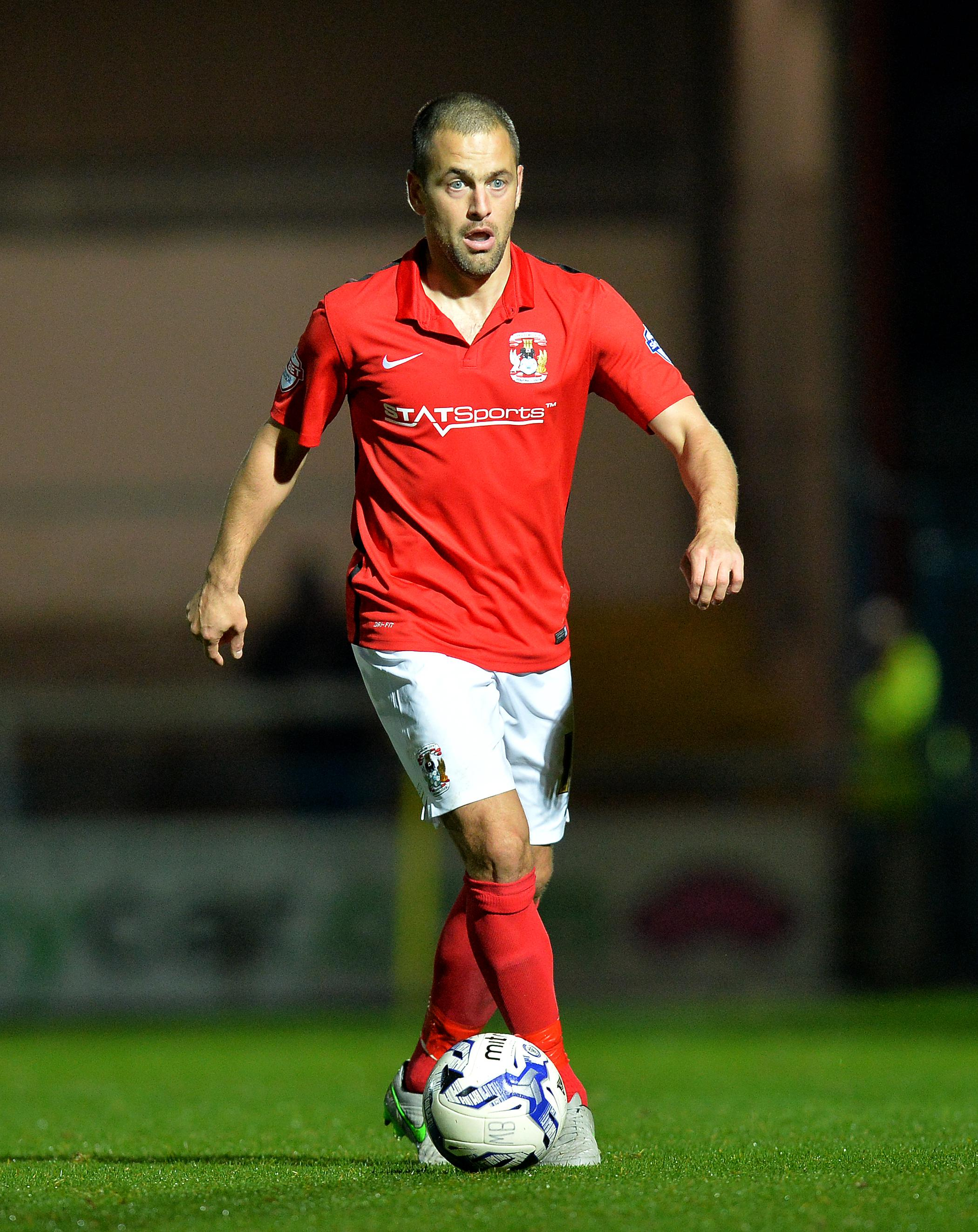 Football-love Joe Cole had a spell down at struggling Coventry