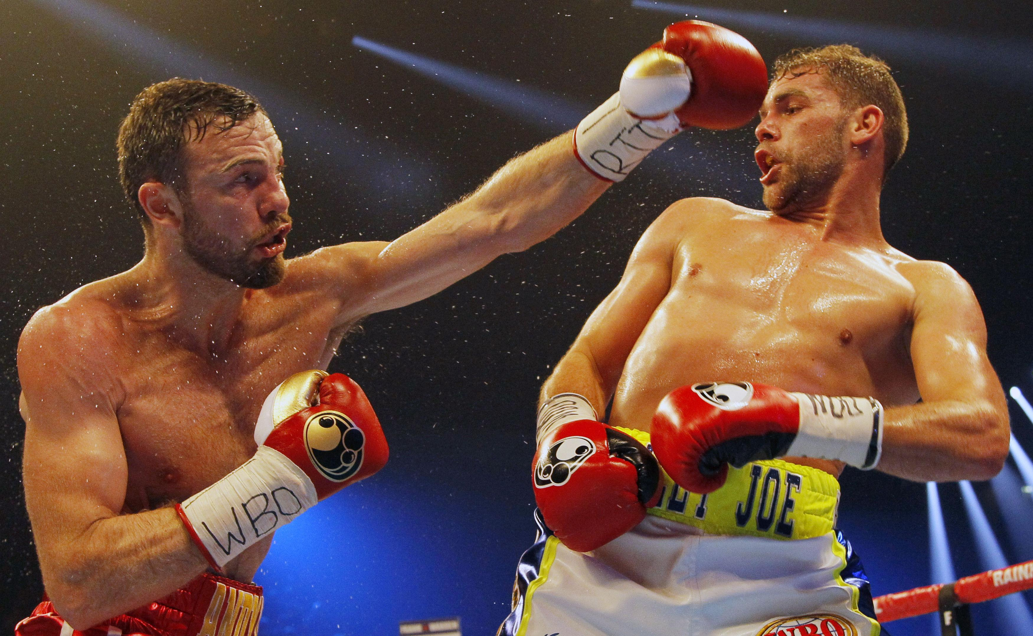 The Andy Lee fight with Billy Joe Saunders was a classic