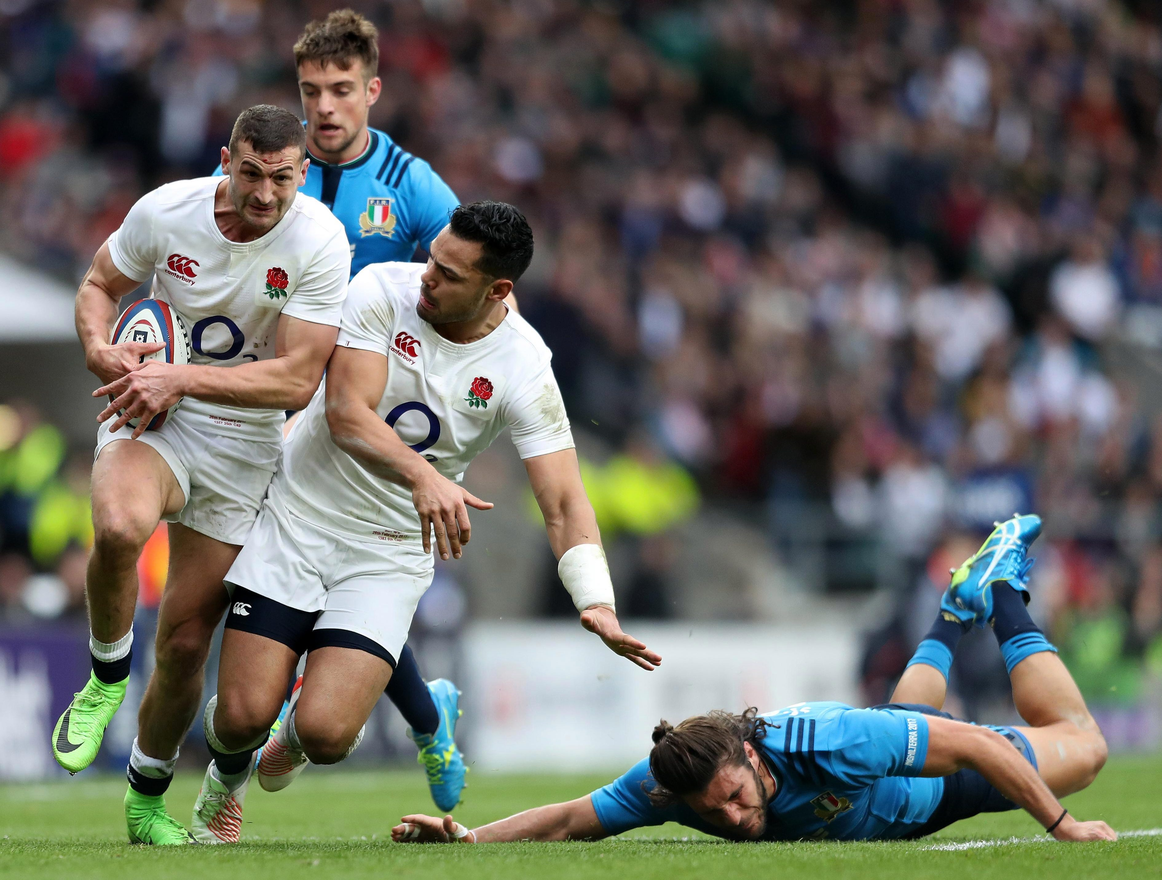 Powerhouse centre Ben Te'o knows an England win at Murrayfield would be a big step towards the Six Nations title