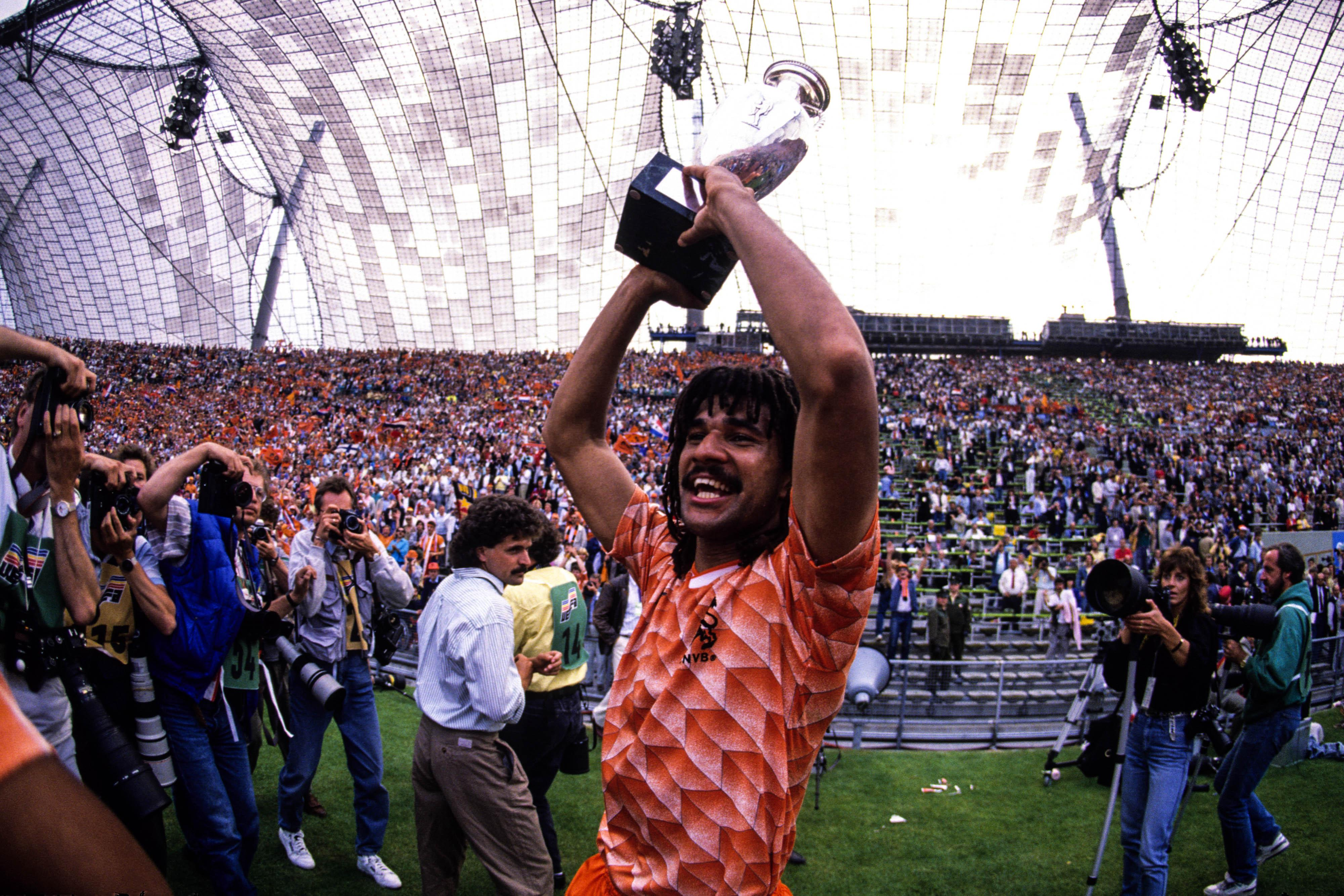 As a player Gullit won numerous medals, including Euro 1988 with the Netherlands
