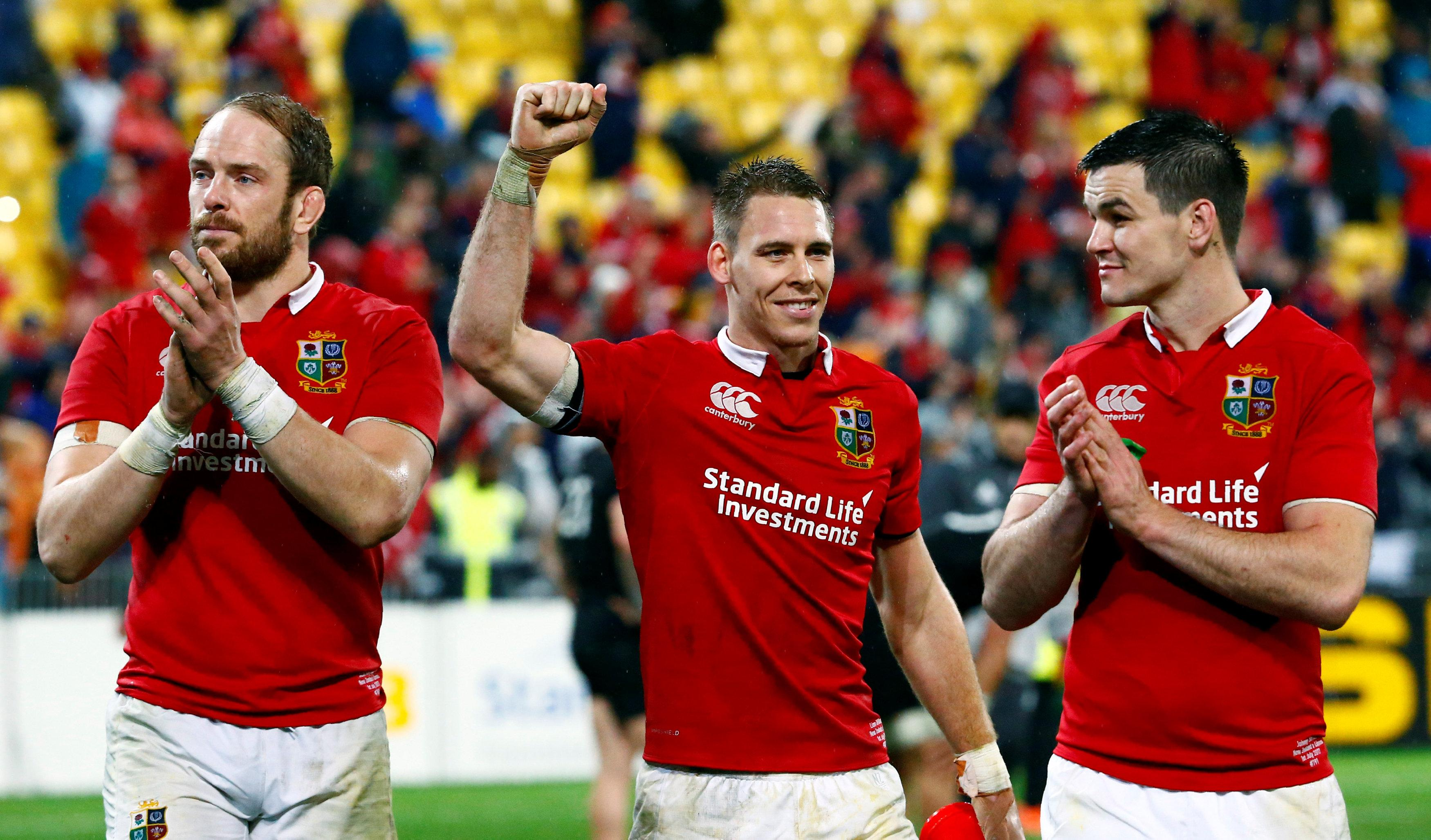 Lions ace Liam Williams, centre, has been a huge hit at Saracens - but has to stay fit