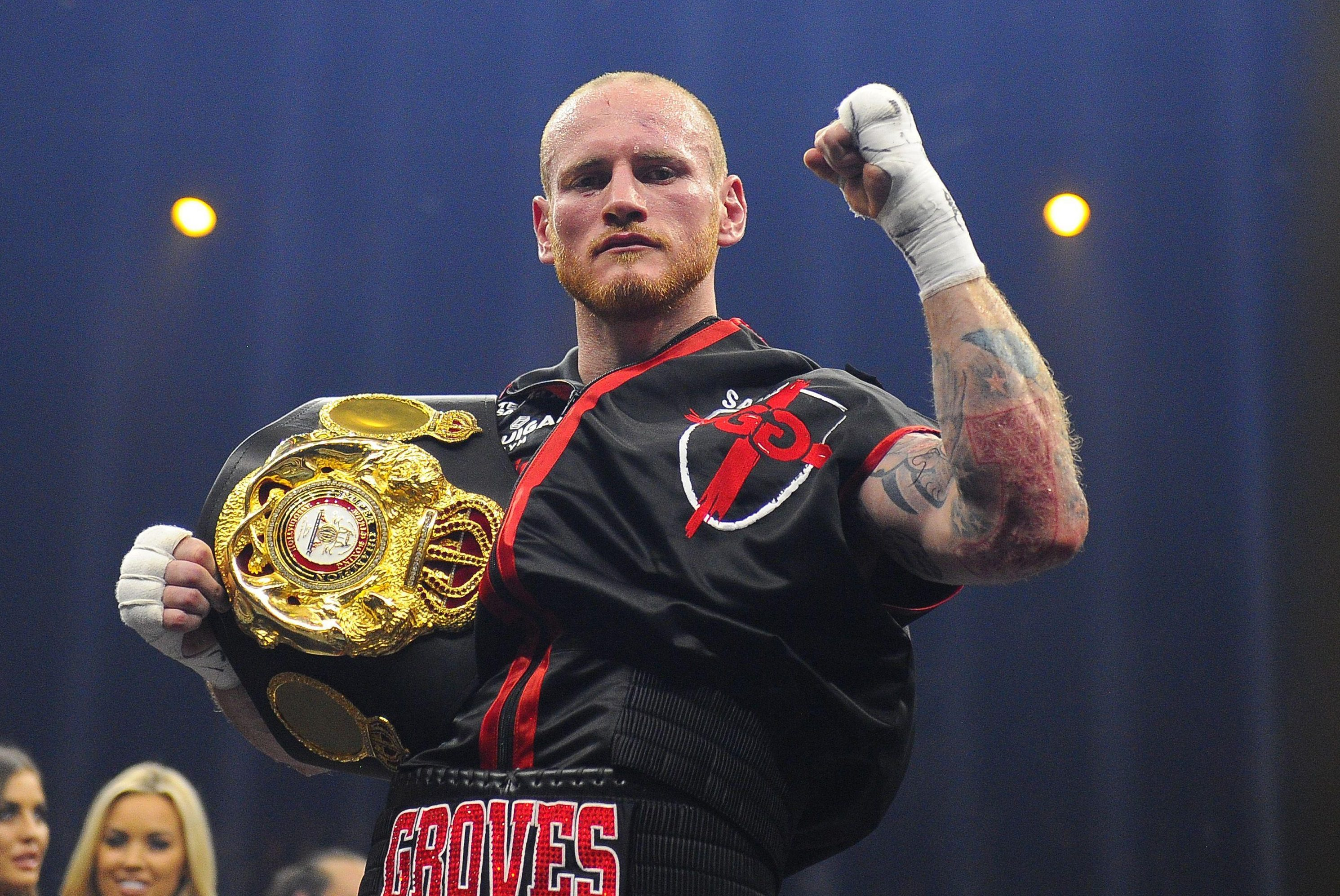 Groves will be defending his WBO title at Saturday's clash