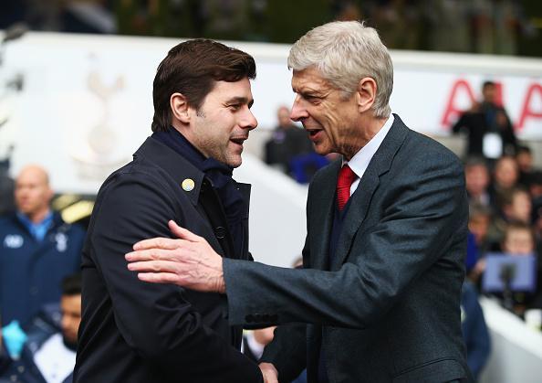 Arsene Wenger and Mauricio Pochettino will be going head-to-head on Saturday