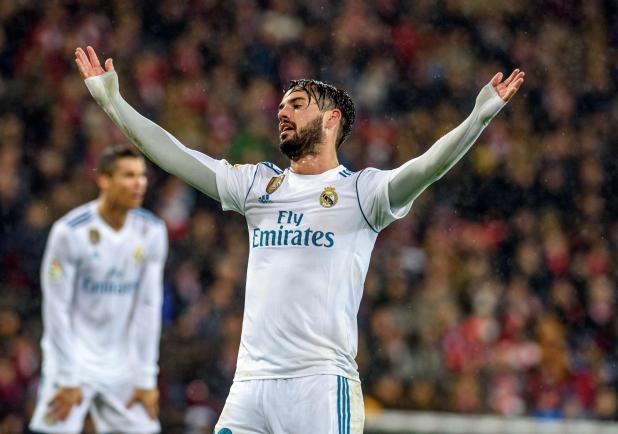 nintchdbpict000370628190 - Real Madrid star Isco to be sold by Zinedine Zidane this summer if Frenchman remains in charge of struggling Spanish giants
