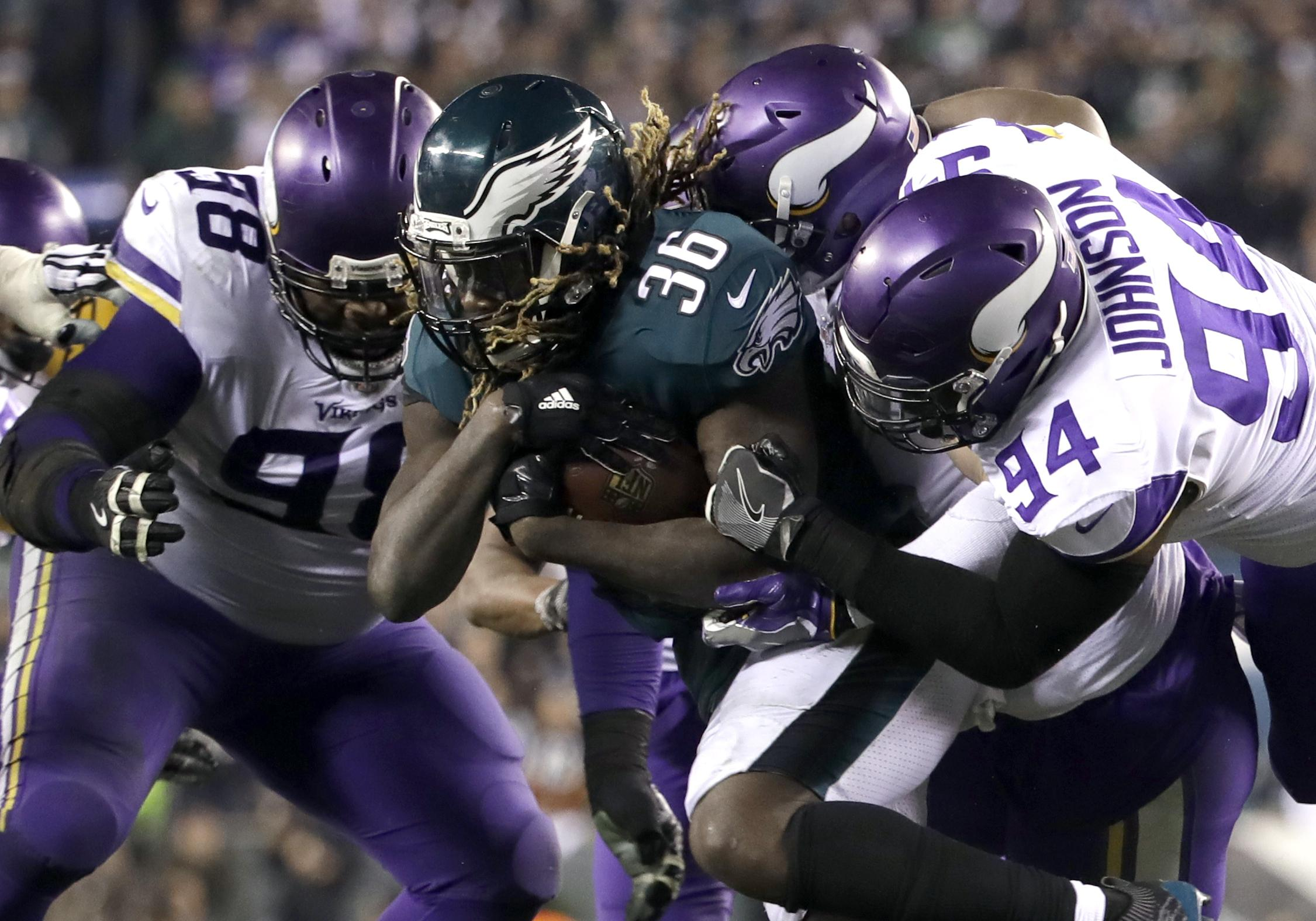 The Eagles are going up against reigning champs New England Patriots
