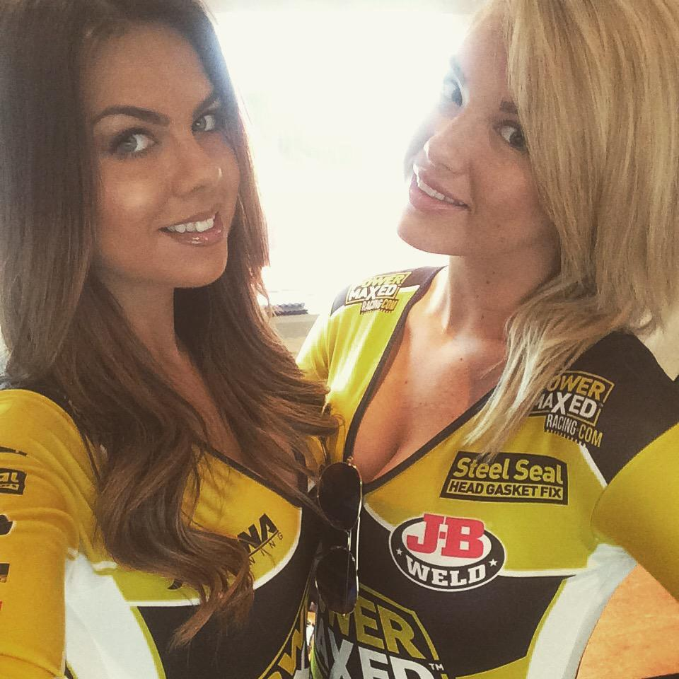 Chantel George reveals you had to be passionate about racing to be a pit girl