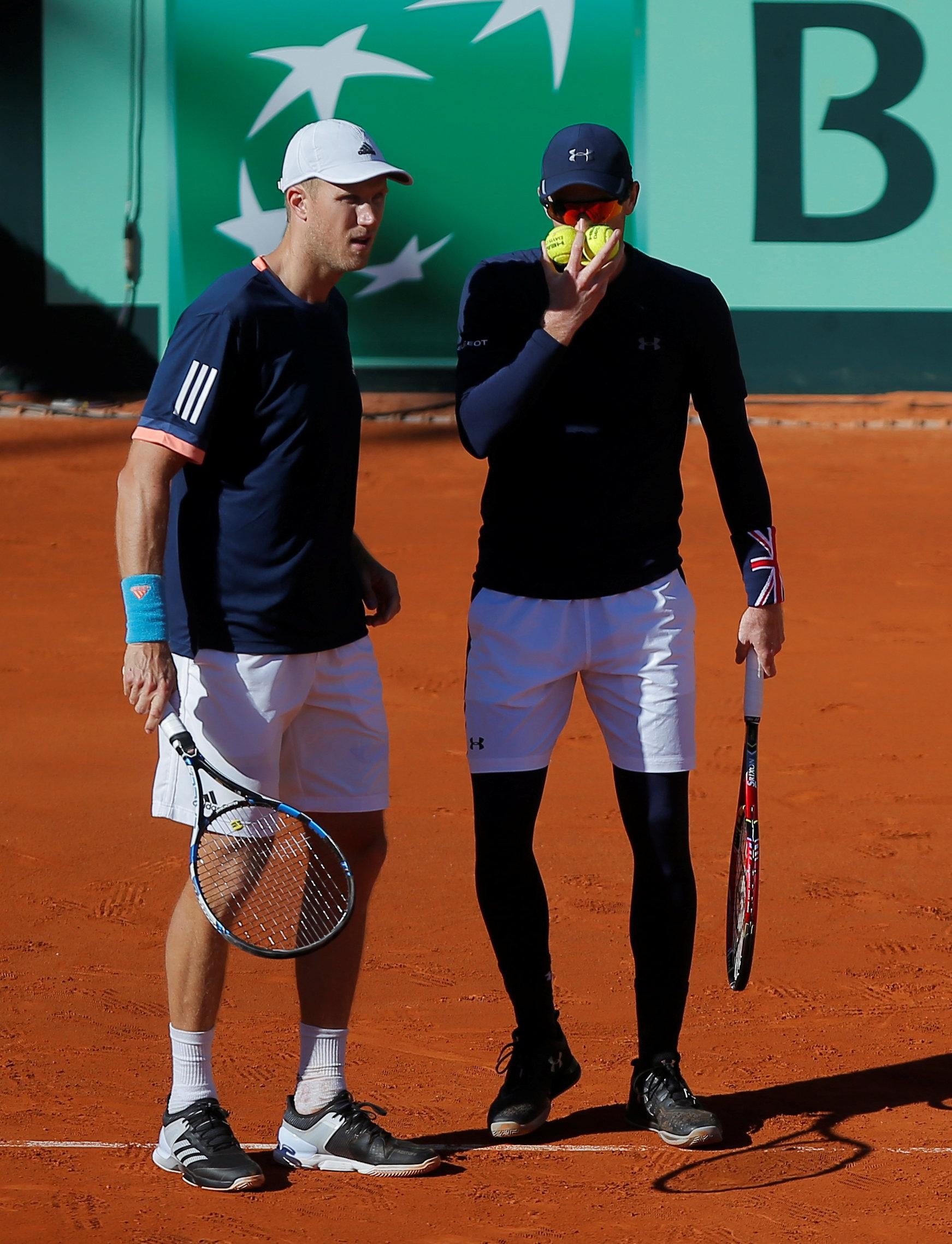 Jamie Murray and Dominic Inglot lost in straight sets.