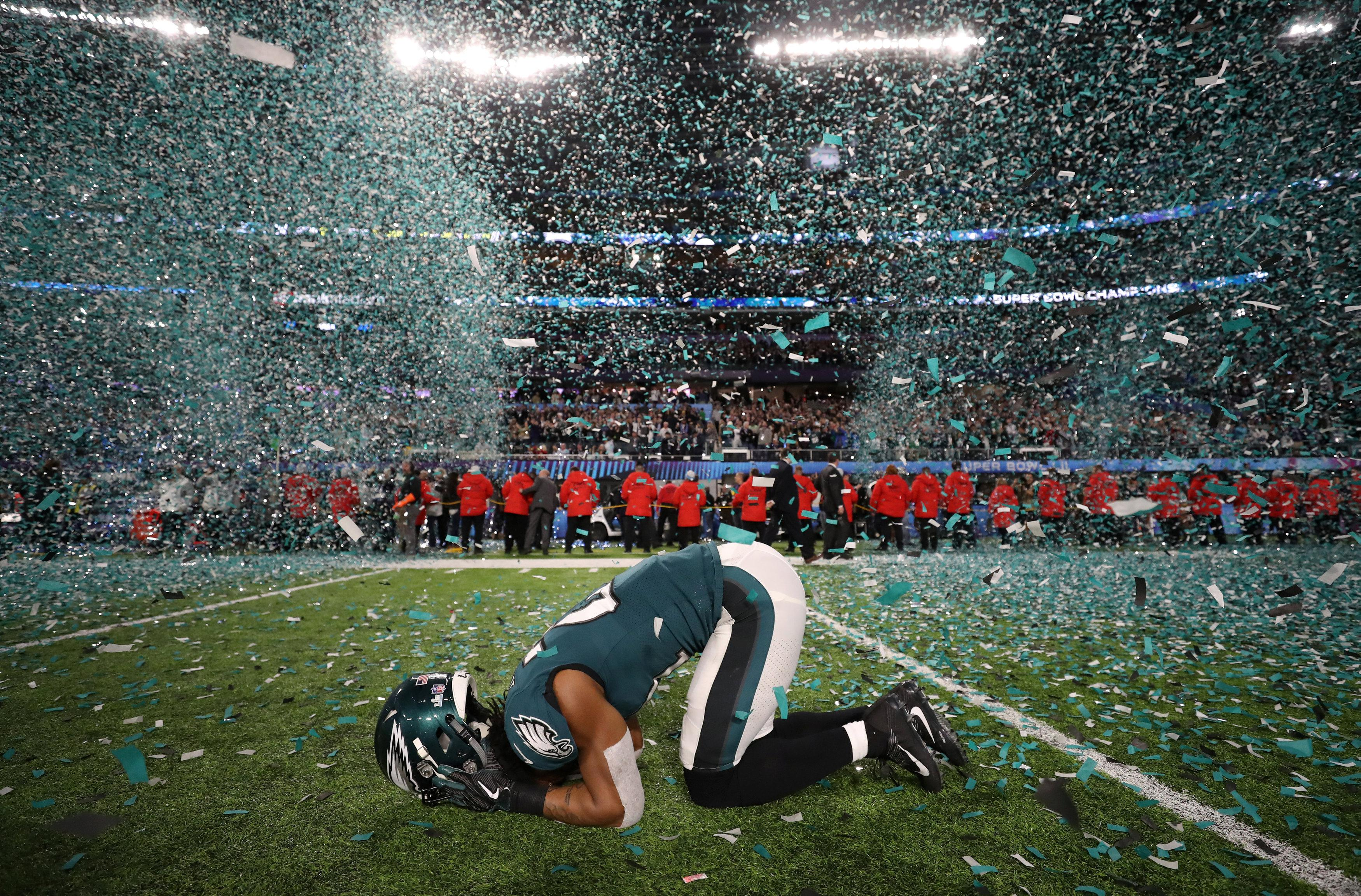 The Philadelphia Eagles won the Super Bowl in January - but face a massive task to make it back this season