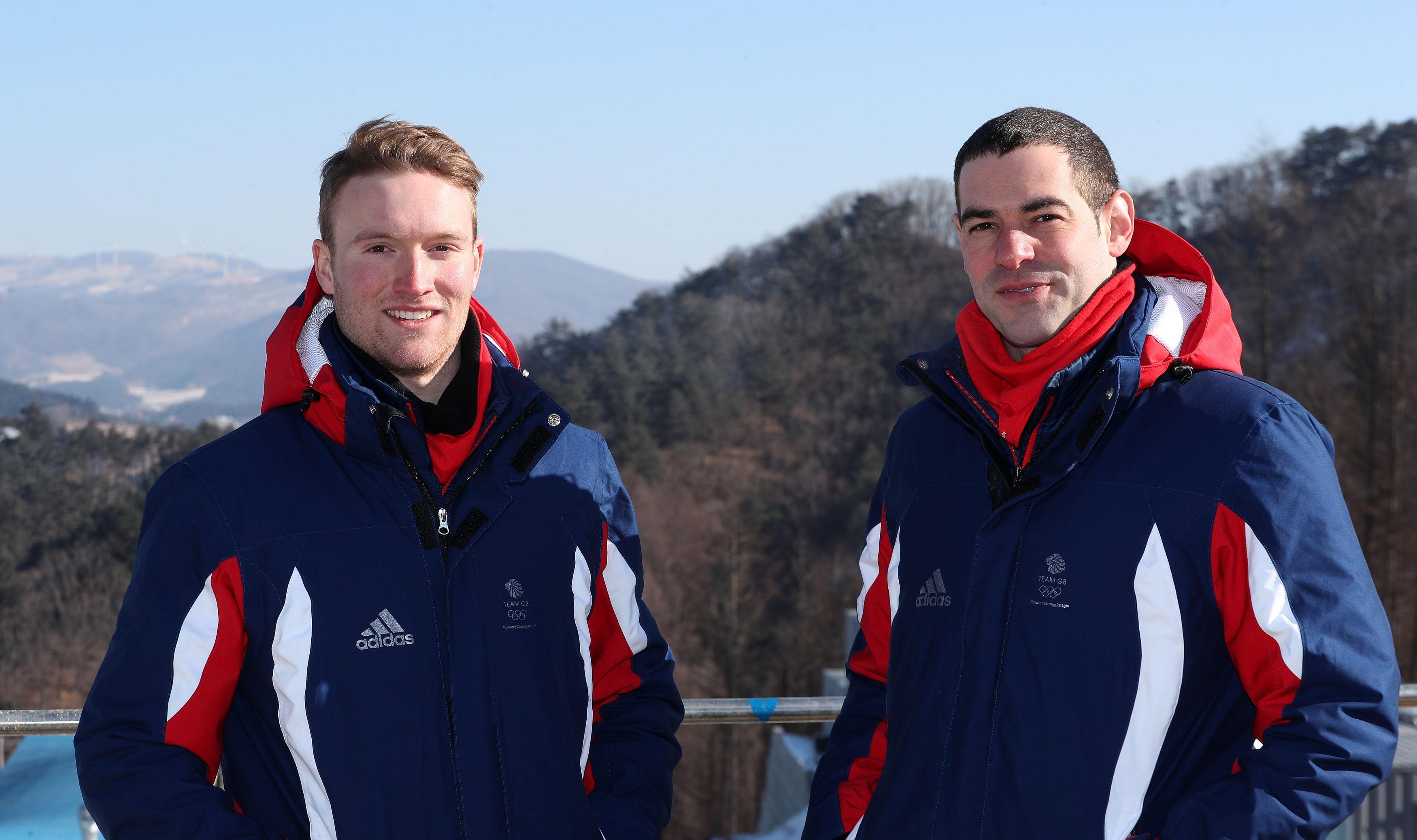 Rupert Staudinger (left) will be competing at his first Winter Olympics alongside veteran Adam Rosen
