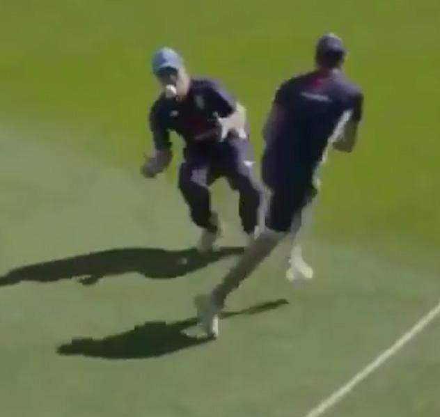 Eoin Morgan must have taken his eye off the ball at the last second