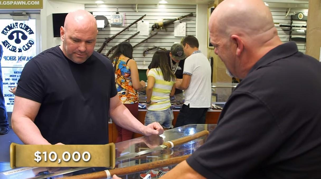 UFC chief Dana White paid five-figure sums for different Samurai swords