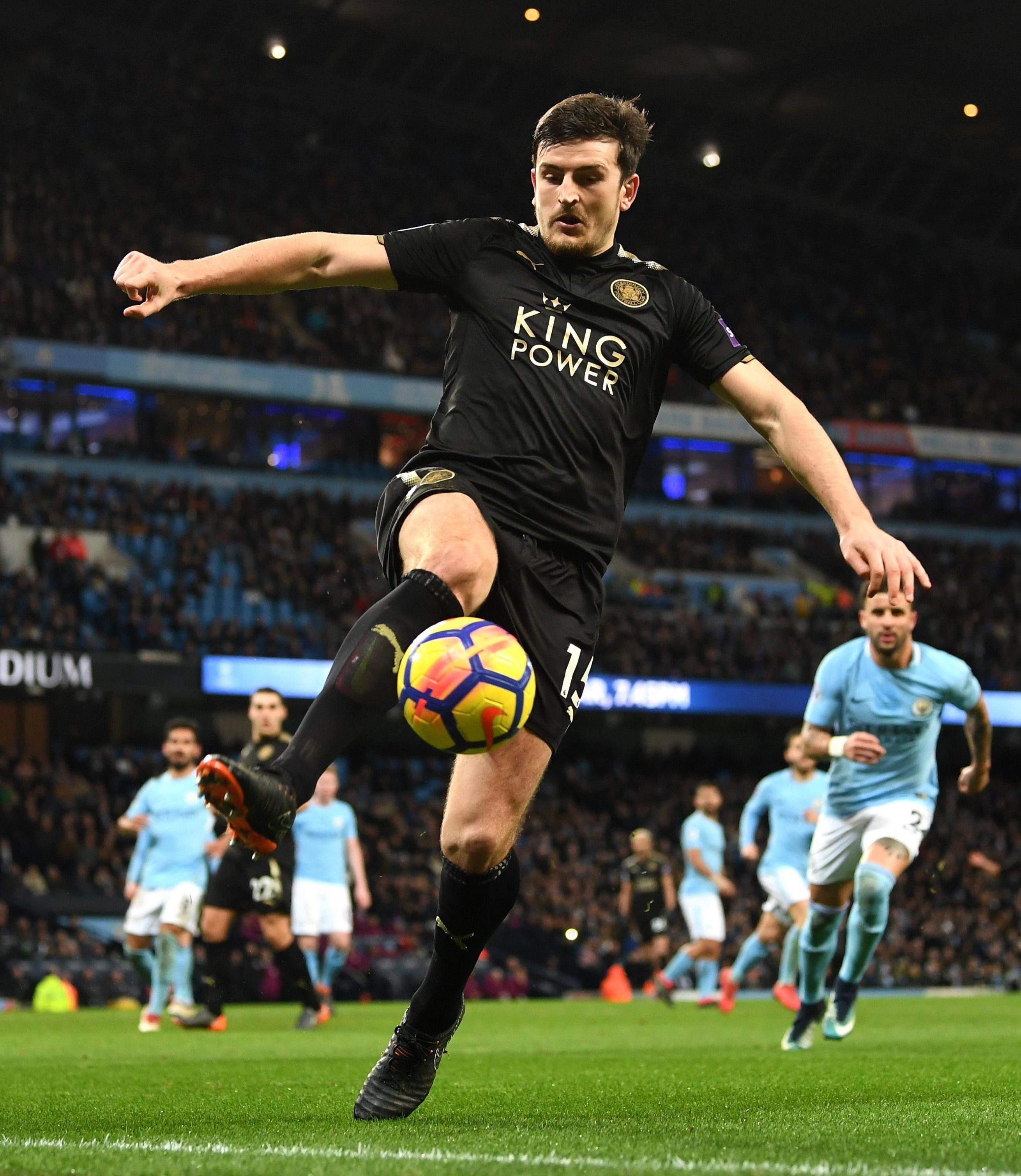 Leicester defender Harry Maguire has been linked with a move to Manchester United