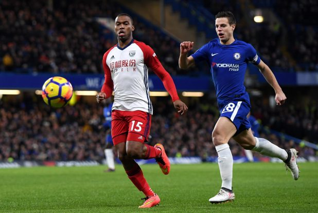 nintchdbpict000384673459 e1518467025861 - Daniel Sturridge limps off with hamstring injury in just third minute of West Brom's visit to Chelsea