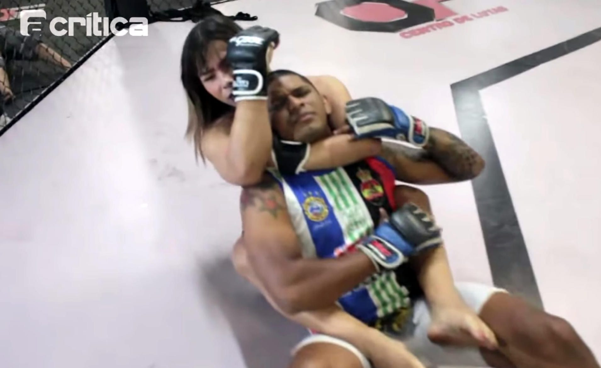 Anne Veriato will make her MMA debut against a man after switching from jiujitsu