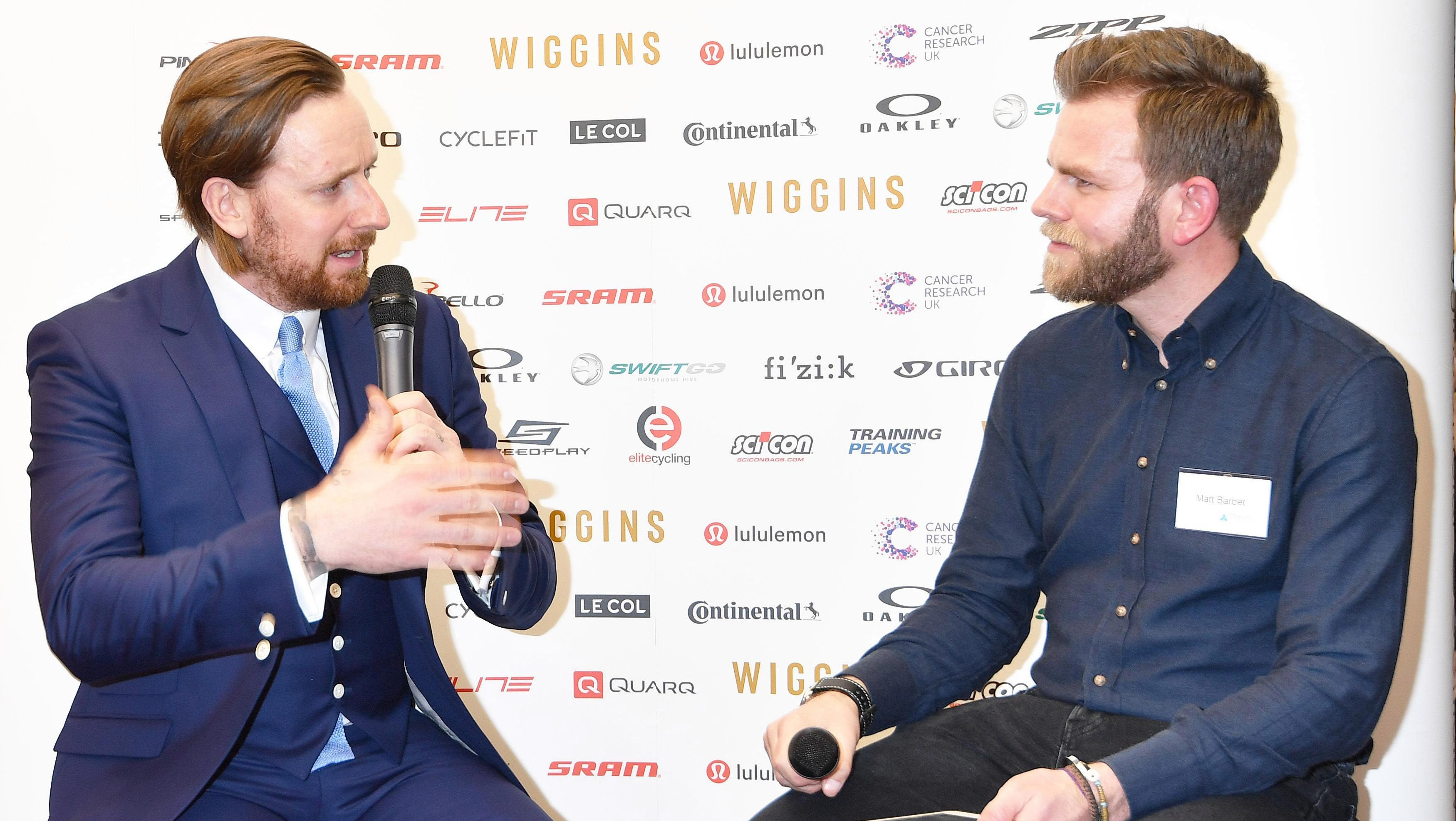Bradley Wiggins had a clear warning for the next generation of cyclists
