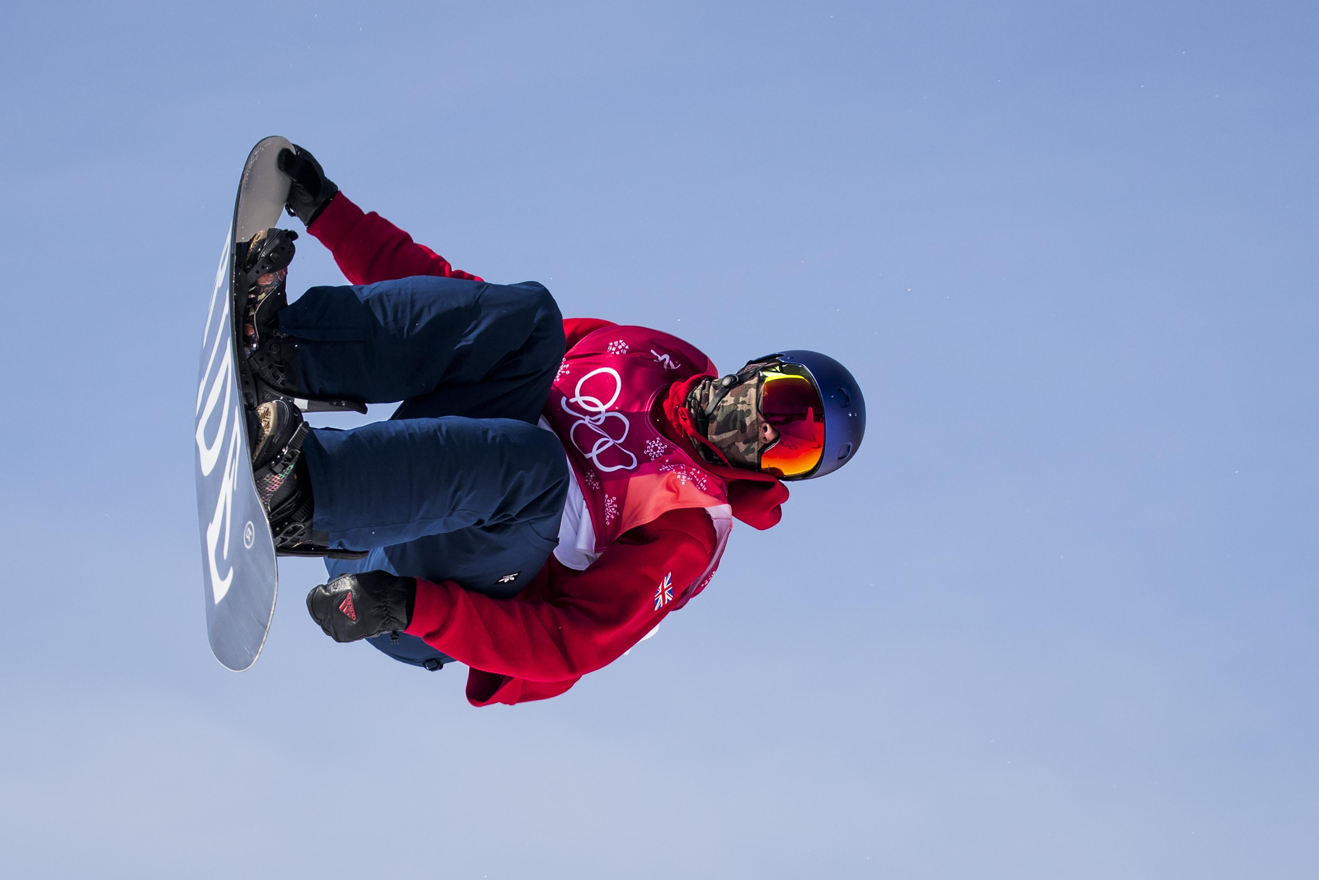 Morgan did not make it through to the slopestyle finals but is through to the big air final