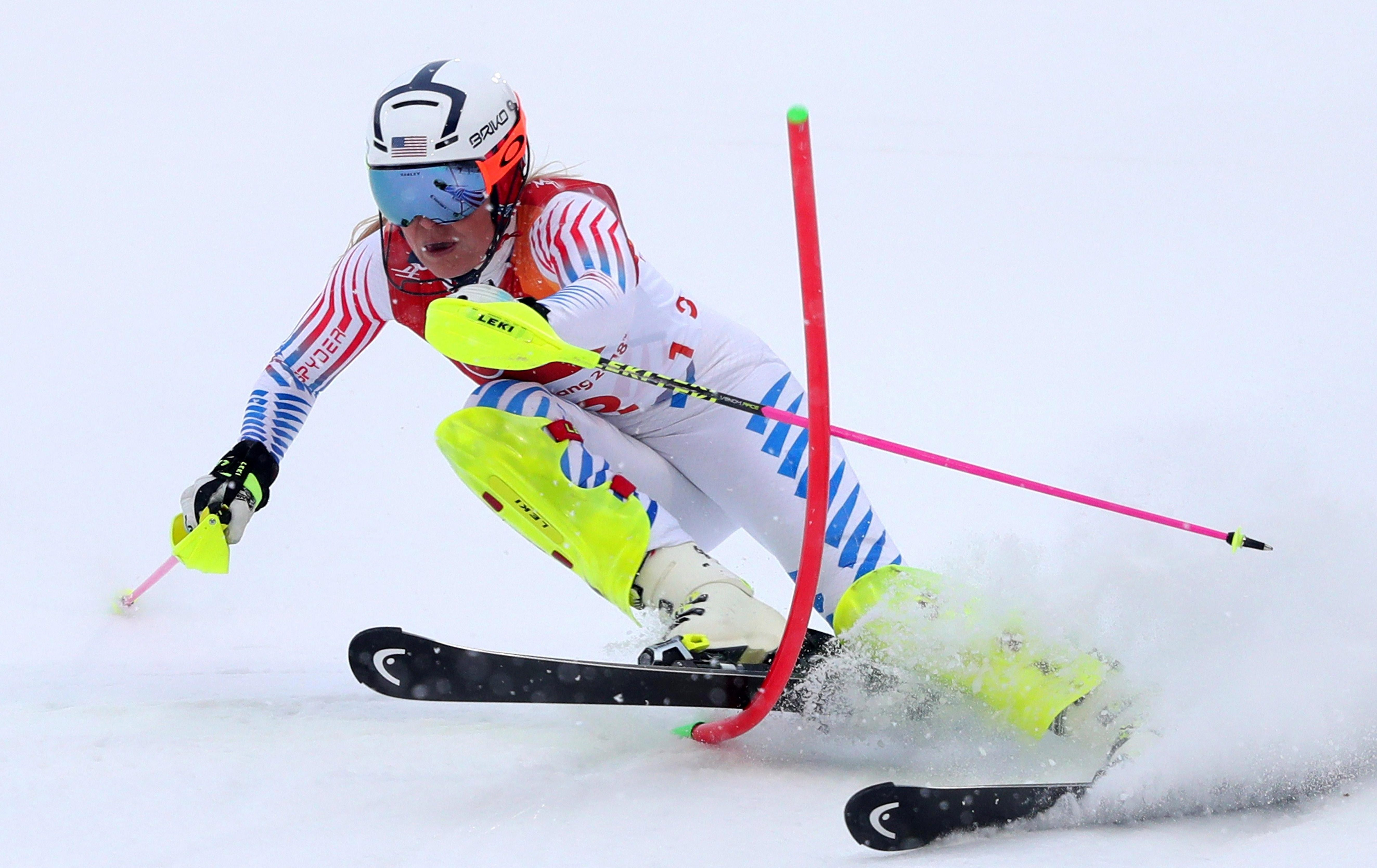 Lindsey Vonn was supported by her grandfather throughout her skiing career