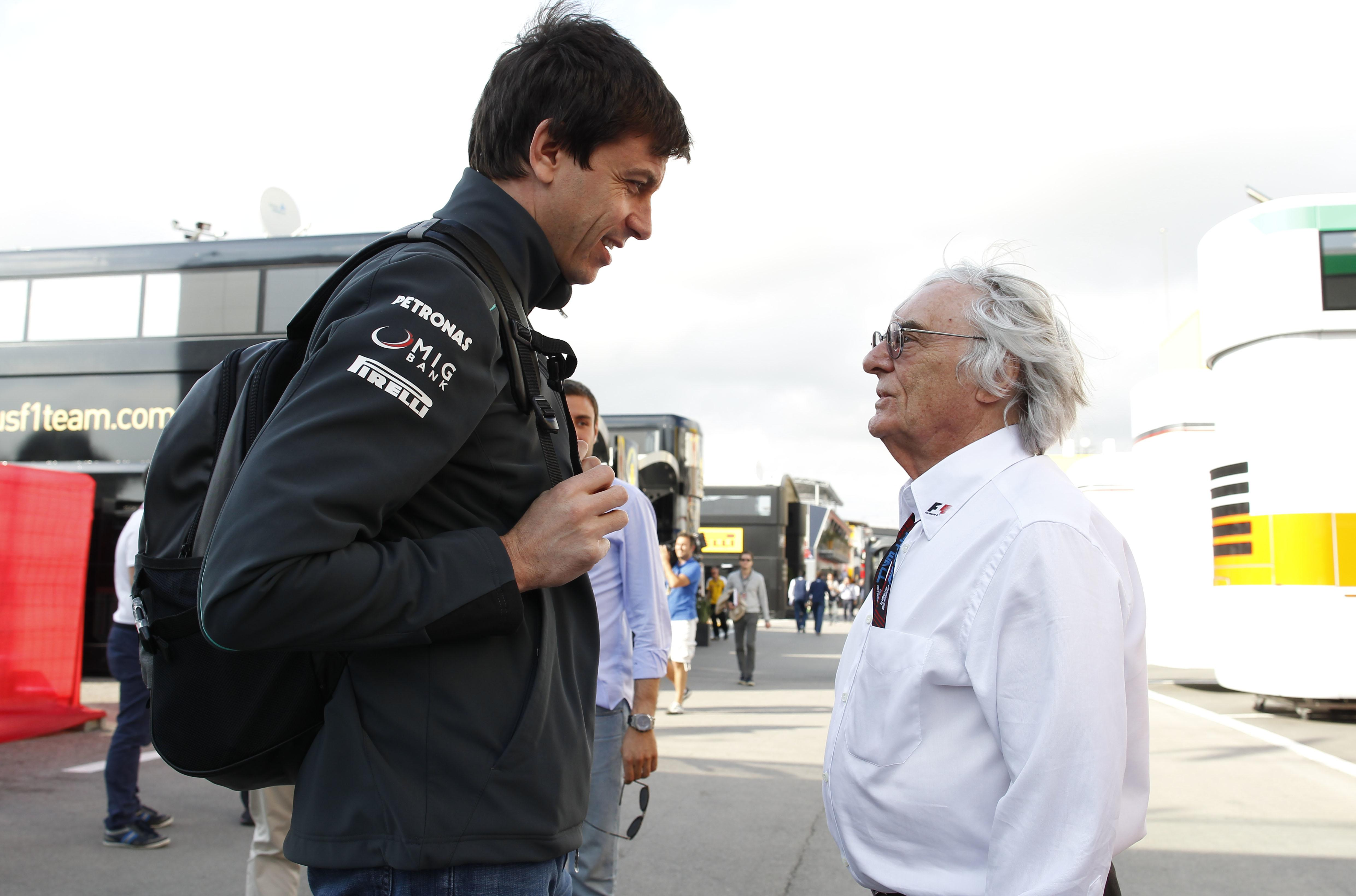 Bernie Ecclstone wanted Toto Wolff to supply Red Bull with same engines in 2015
