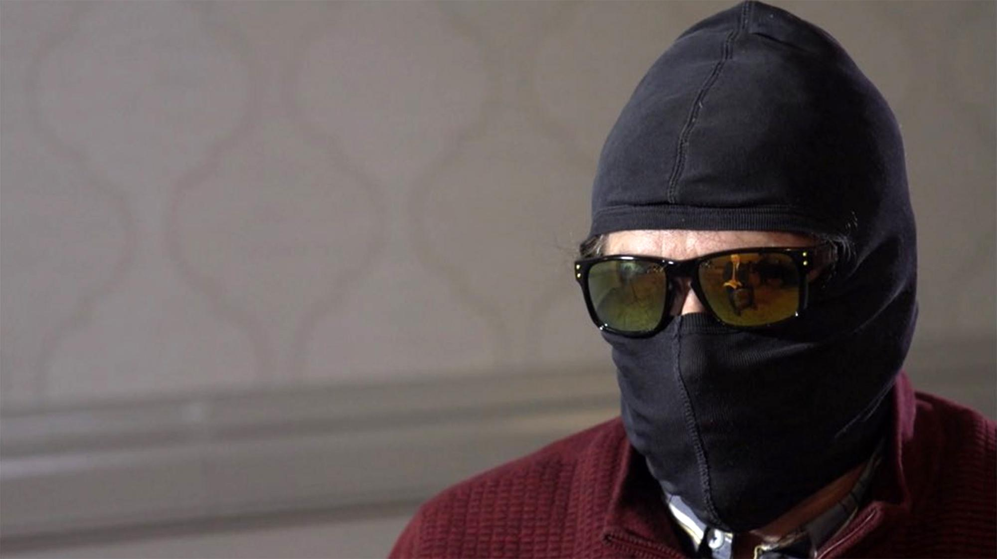 Rodchenkov kept his identity covered during an interview with the BBC