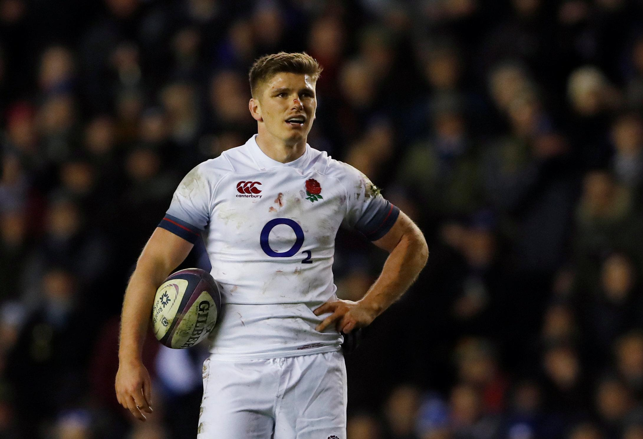 Owen Farrell faces disciplinary probe after he was allegedly involved in a punch-up before Calcutta Cup