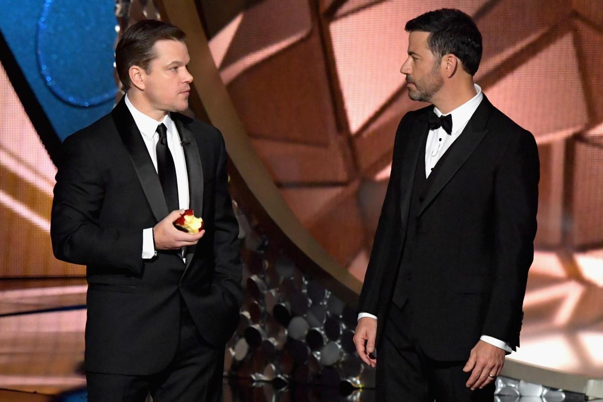 What is Jimmy Kimmel\'s feud with Matt Damon about and is it a joke ...