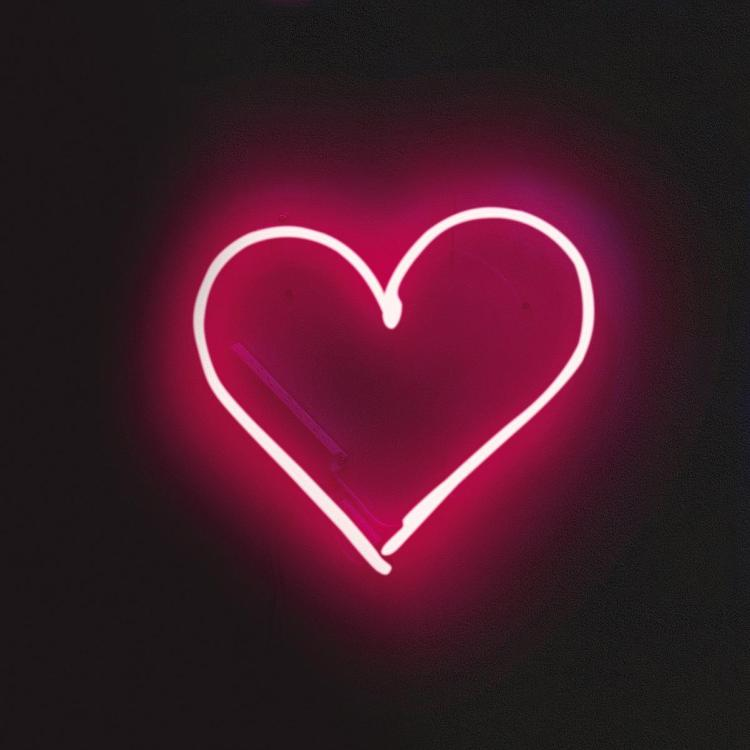 This neon light will make you feel warm and fuzzy even after February 14
