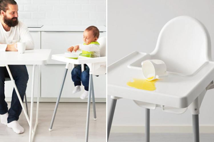 ikea high chairs gym roman chair mum reveals genius hack to clean an so were you aware of this trick