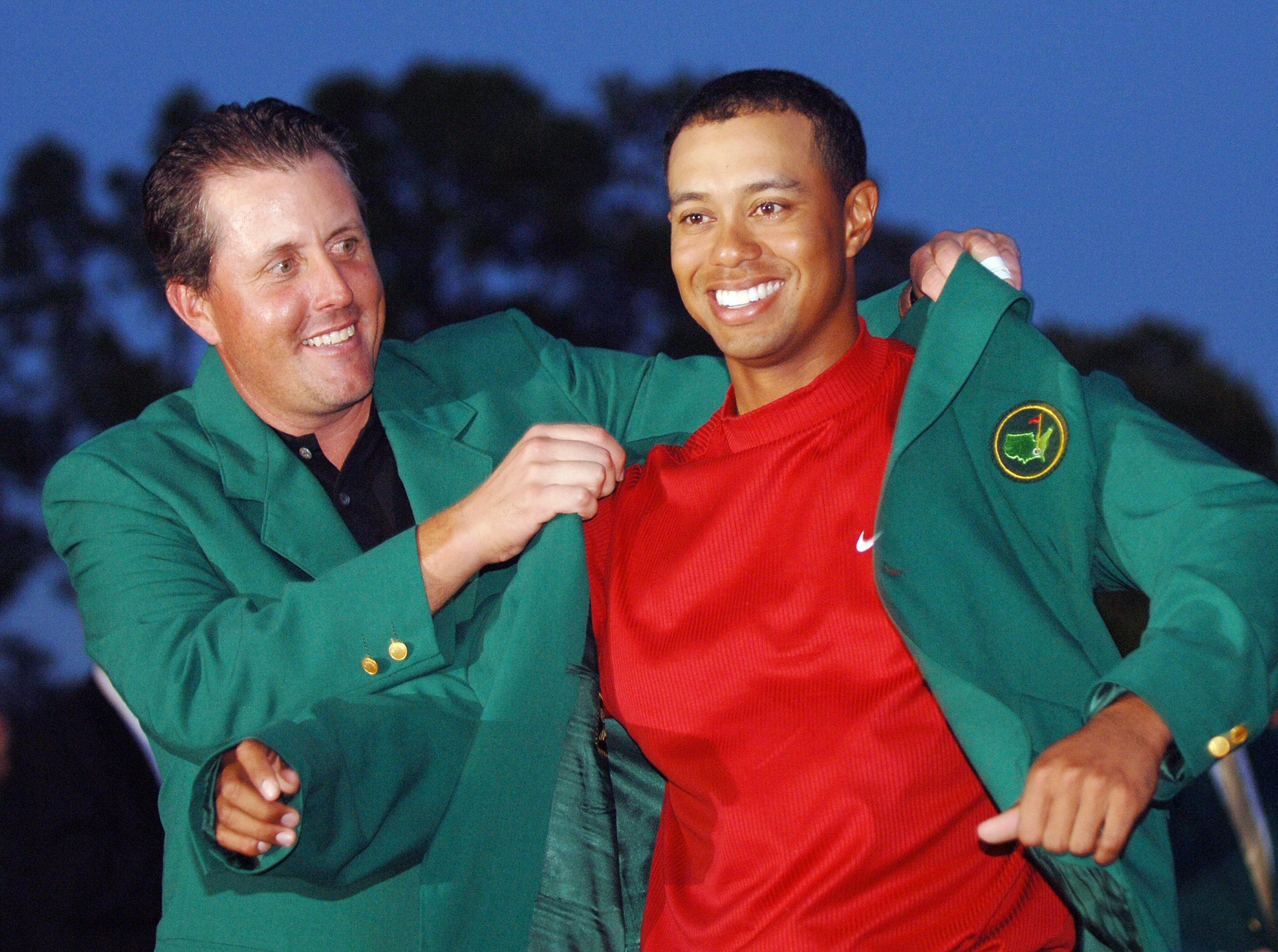 Tiger Woods has not won the Masters since 2005
