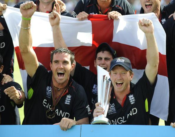 Kevin Pietersen helped England win the World T20 tournament in 2010