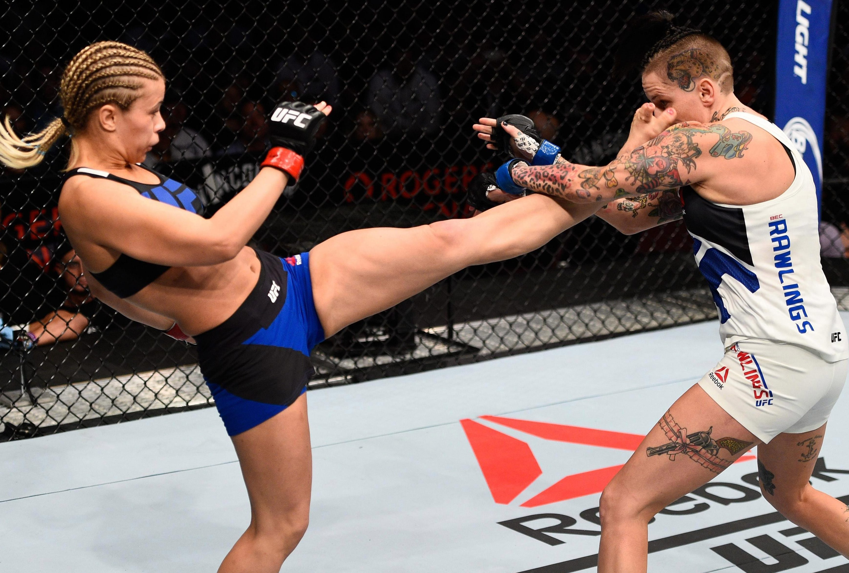UFC star Paige VanZant is currently recovering from a broken arm