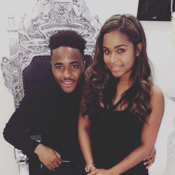 Love rat Raheem Sterling has proposed to his long-suffering girlfriend Paige Milian