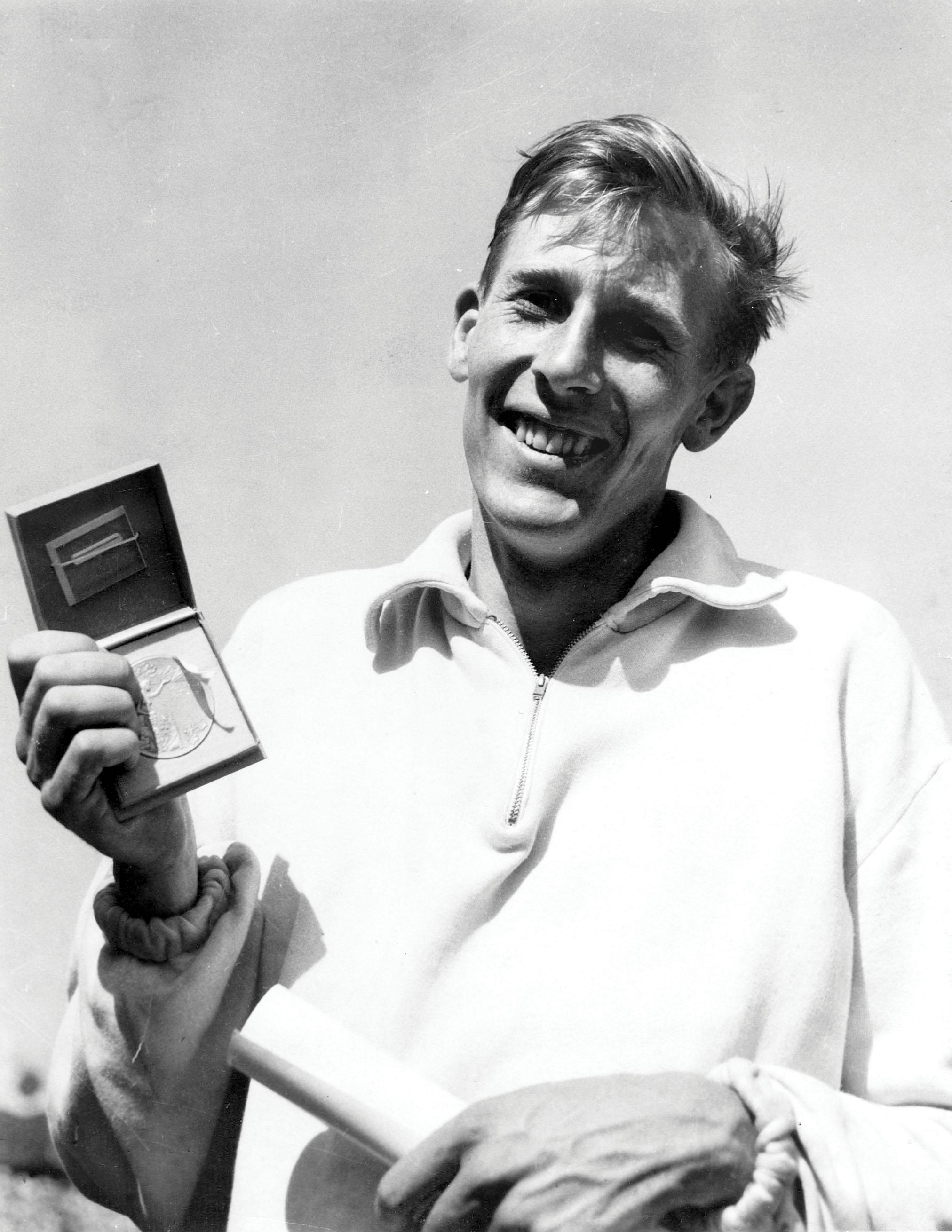 Bannister was the first athlete in the world to run a mile in under four minutes