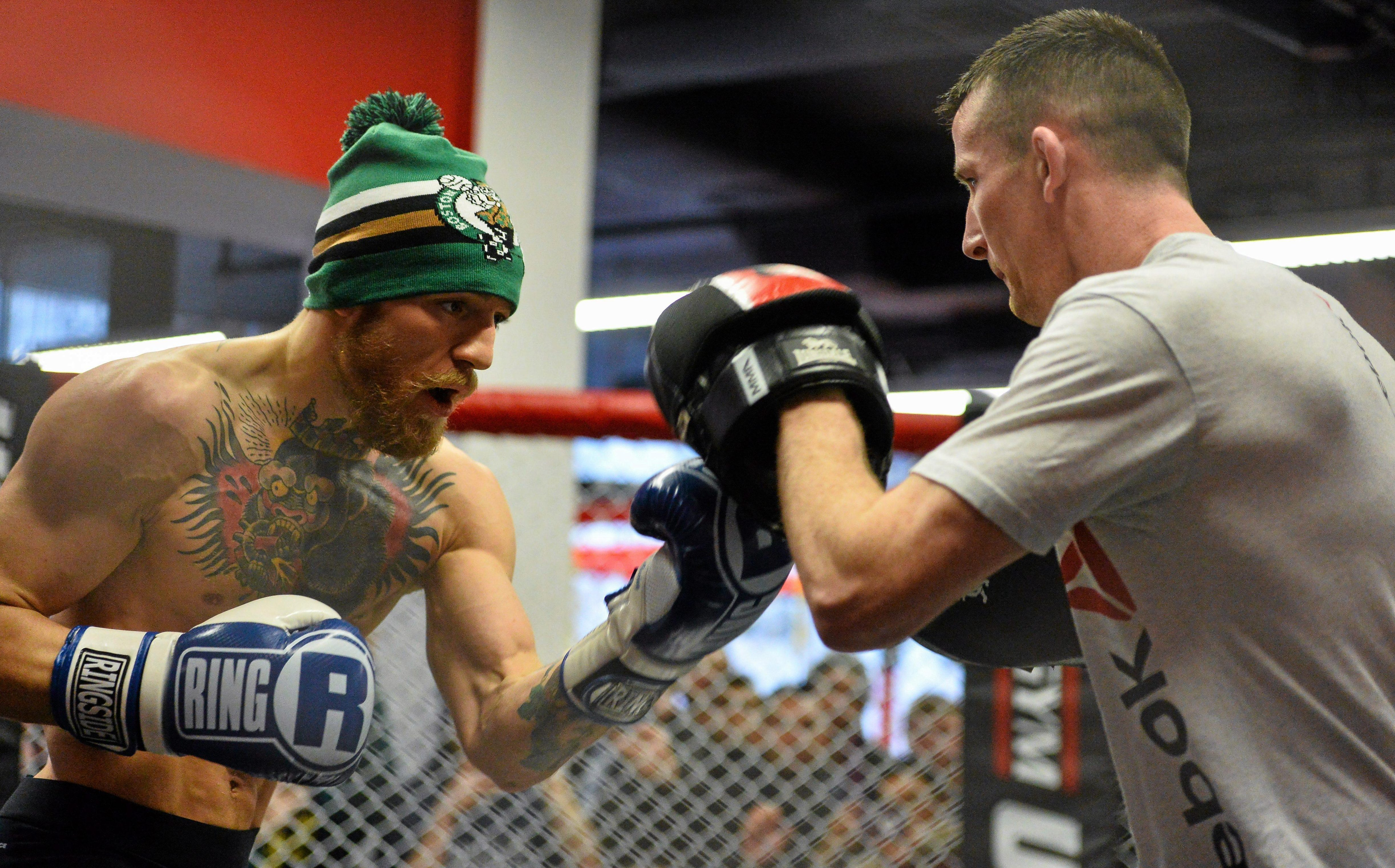 Conor McGregor did not employ a boxing coach for his Mayweather fight - he trusted Owen Roddy