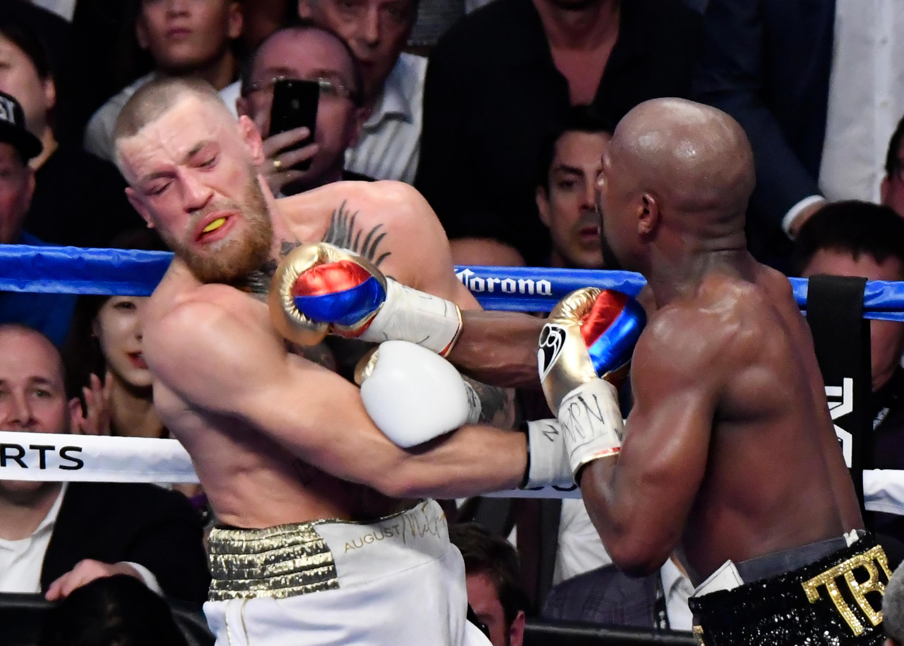 Floyd Mayweather retired for the second time after beating Conor McGregor
