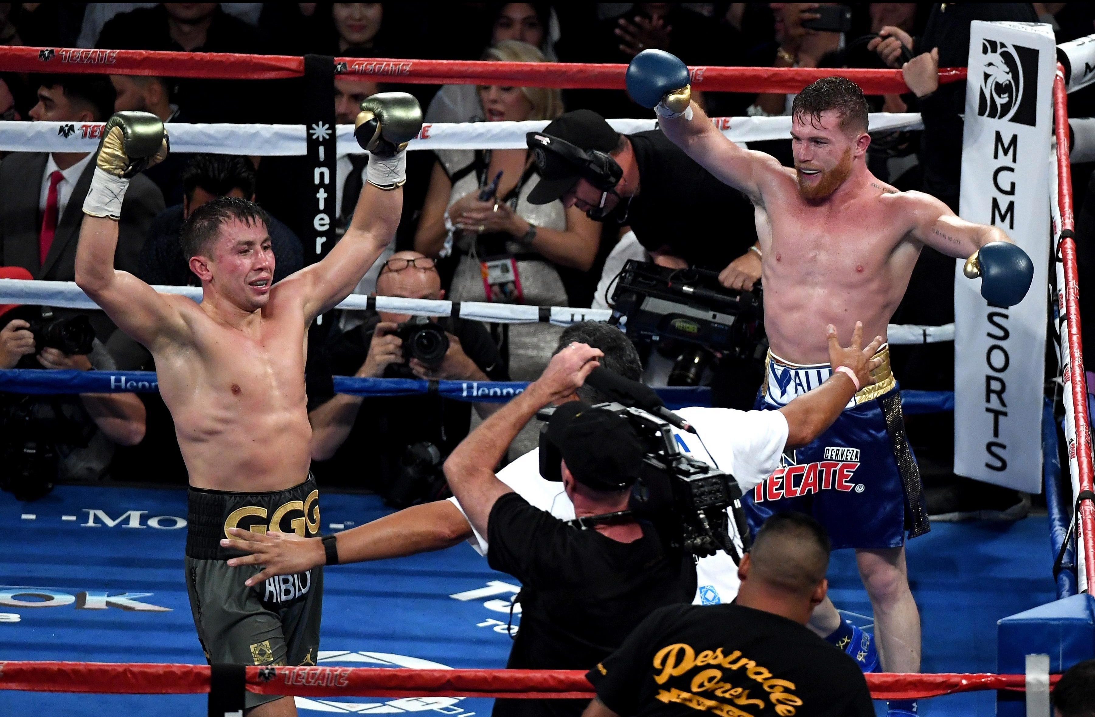 Saul Alvarez and Gennady Golovkin both thought they had won the first time they met