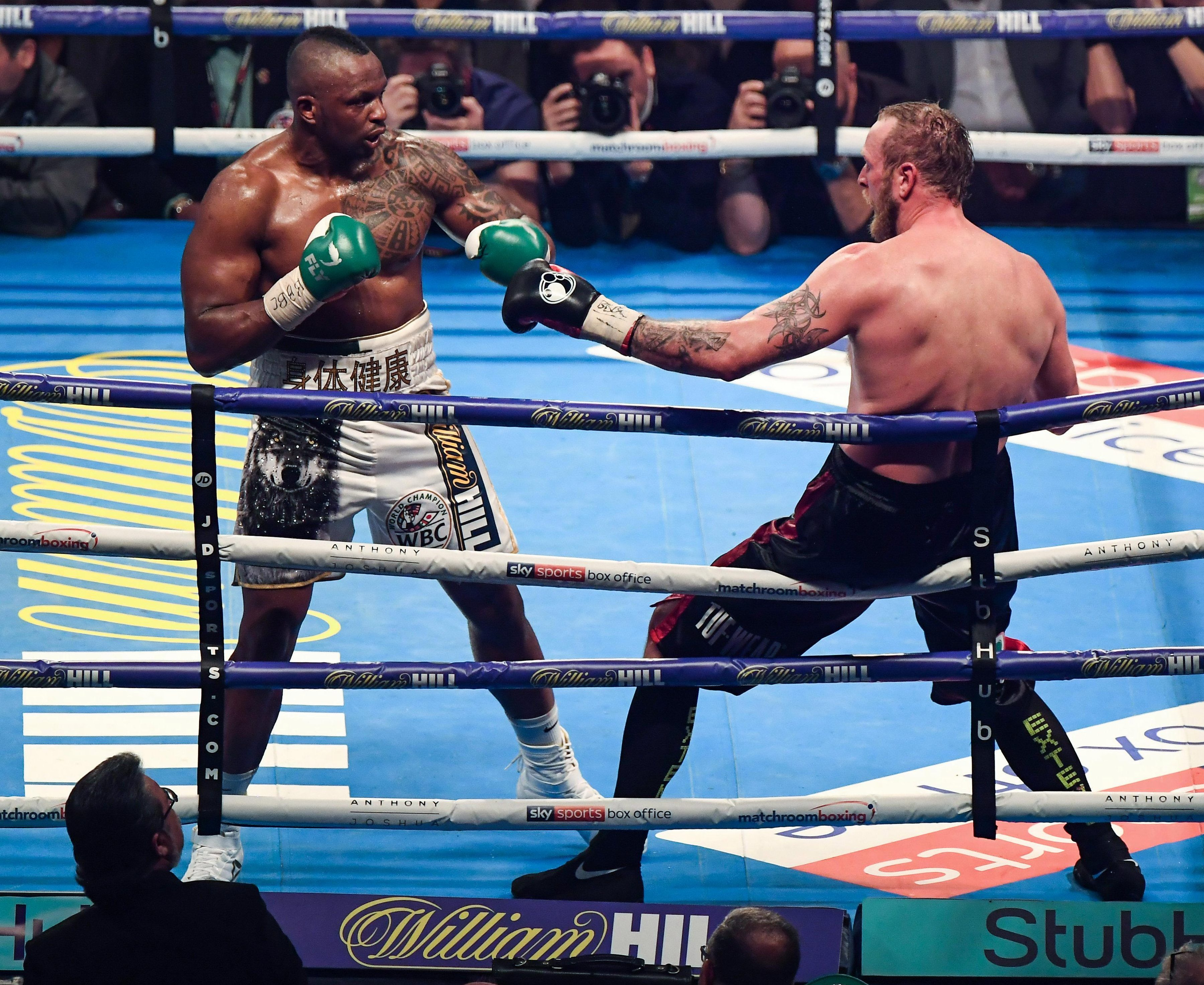 Dillian Whyte hopes to beat Lucas Browne to get a rematch with Anthony Joshua