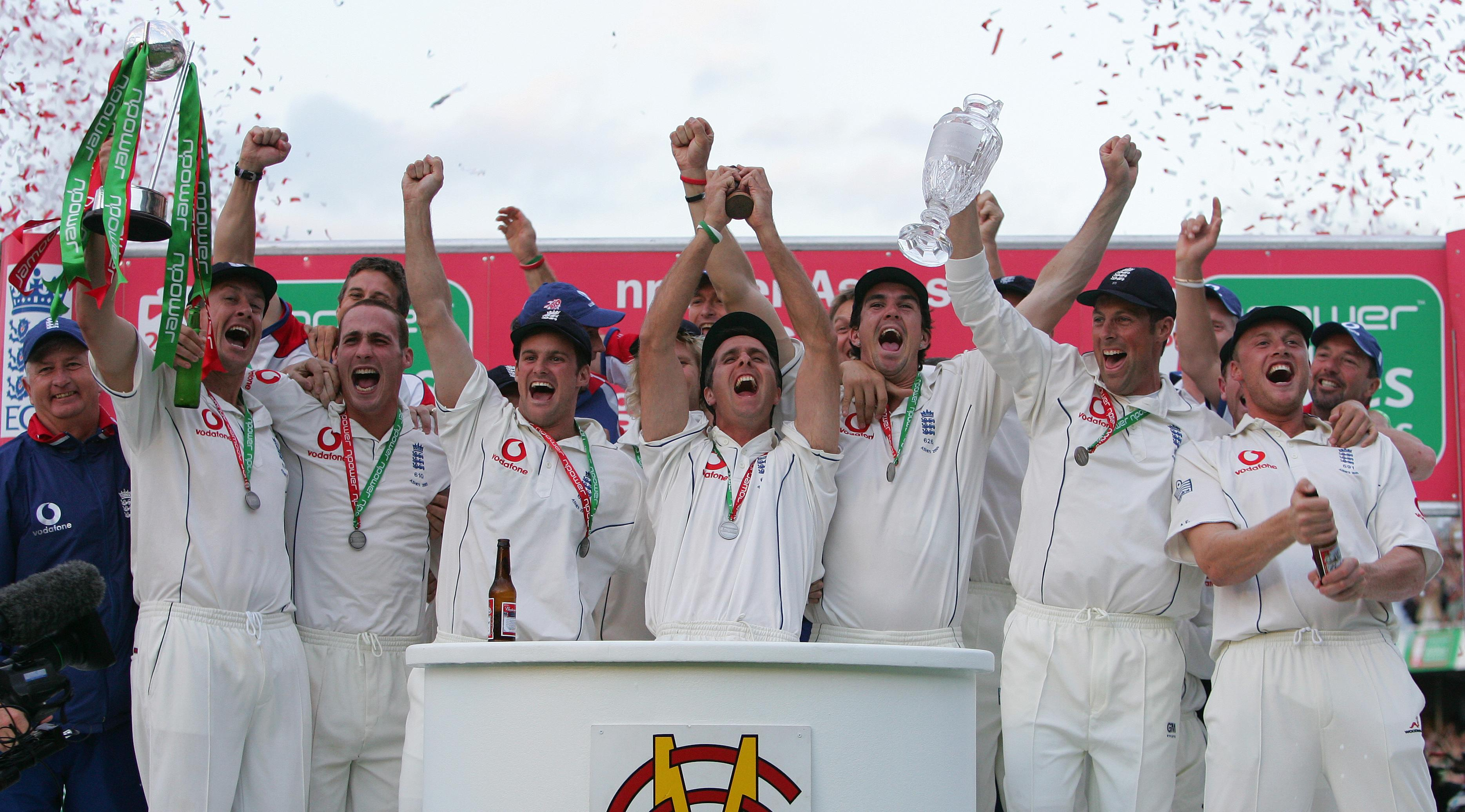 England famously won the 2005 Ashes series, with Kevin Pietersen an integral figure