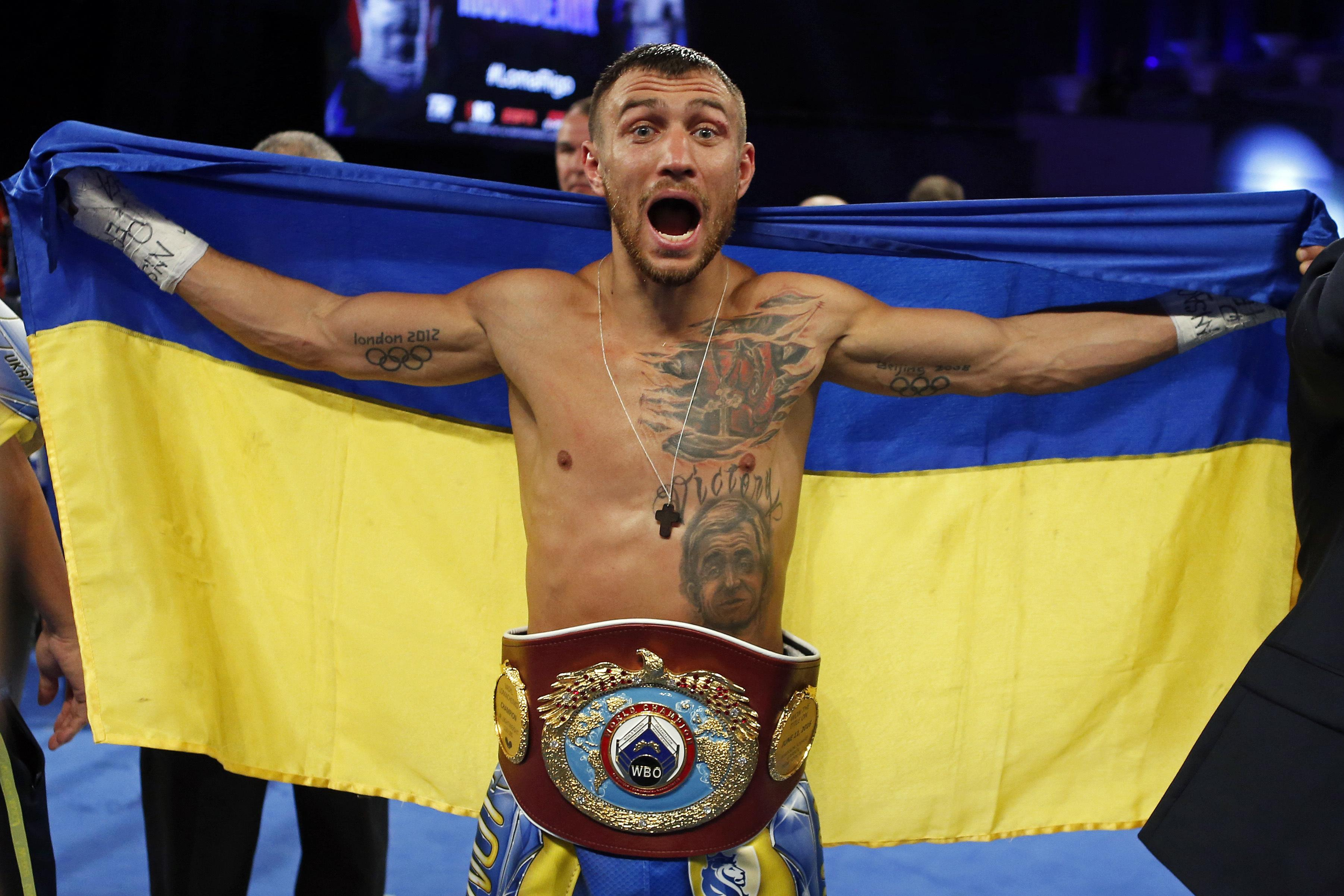 Vasyl Lomachenko is regarded as one of the best pound for pound fighters in boxing