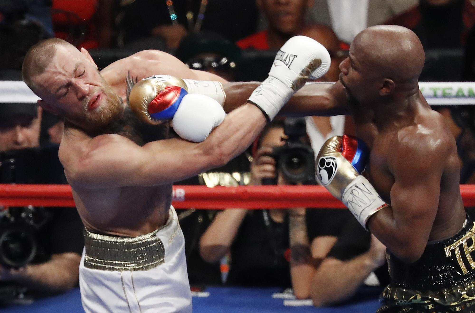 Floyd Mayweather proved far too good for Conor McGregor in the boxing ring last year