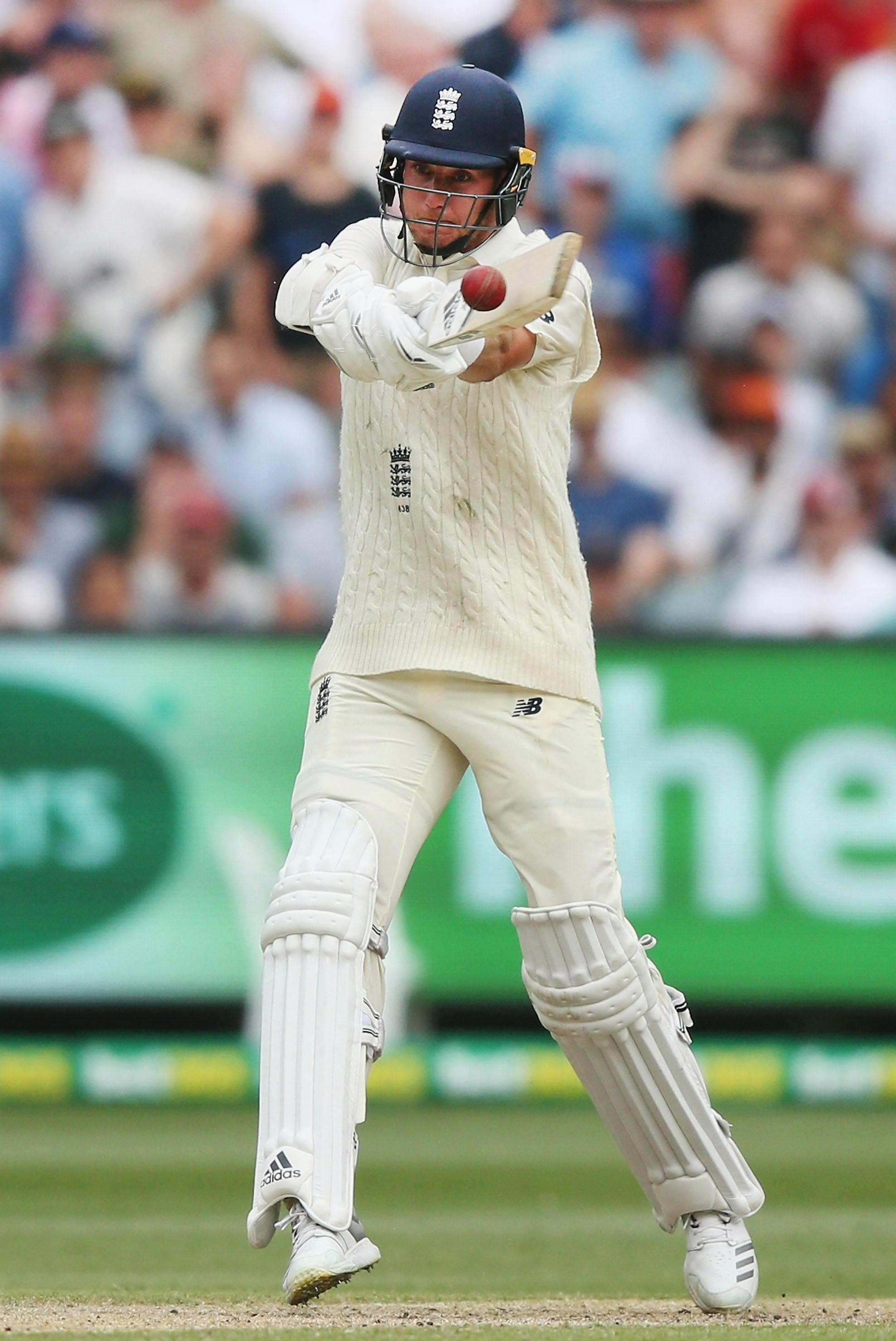 Stuart pictured in the Fourth Test Match in the 2017/18 Ashes series