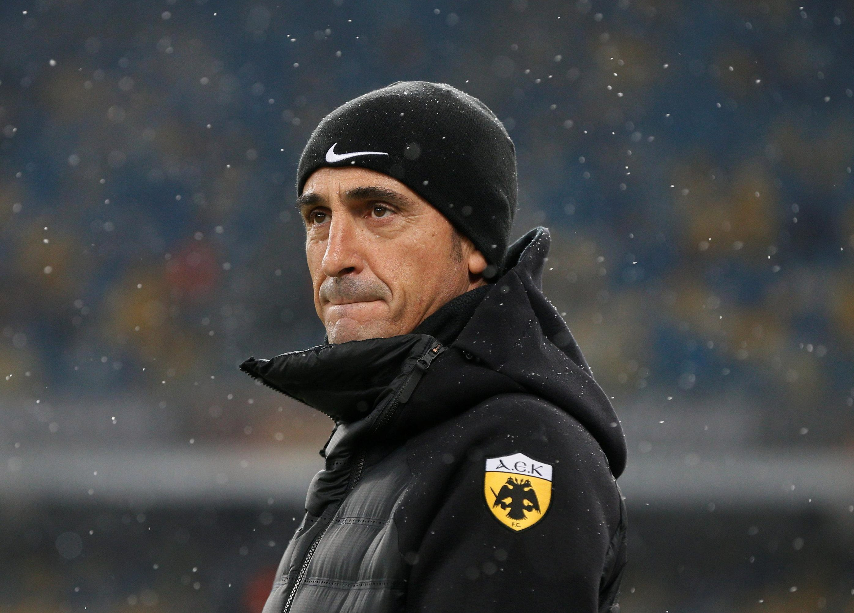 AEK are four points clear at the top of the table after 24 games
