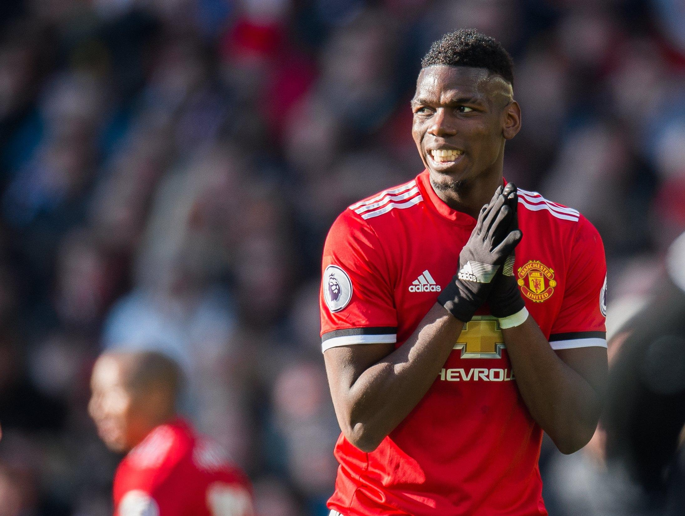 Paul Pogba is set to miss Man United's game against Liverpool with injury
